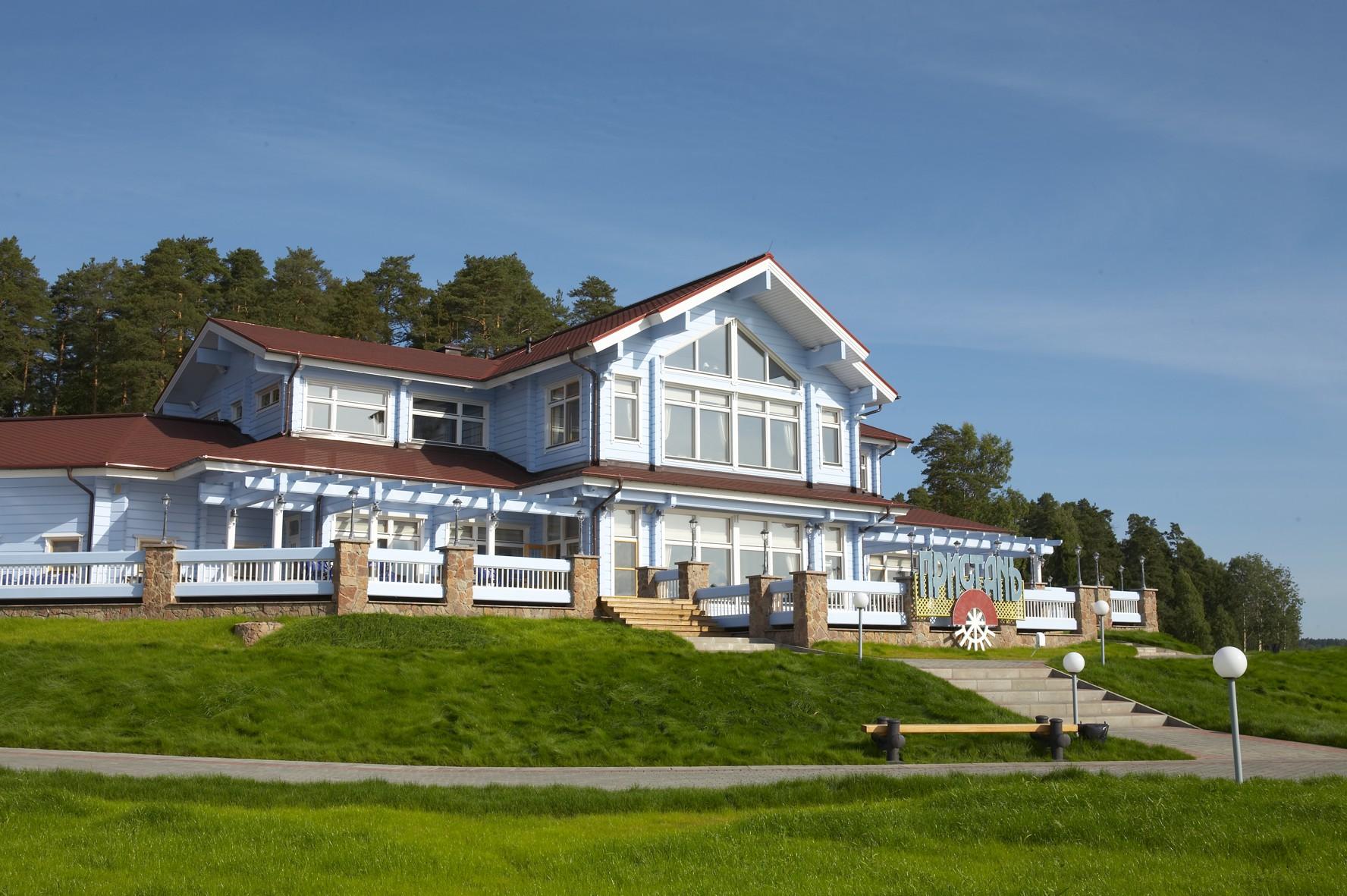 Ресторан на берегу Волги - Пристань от HONKA