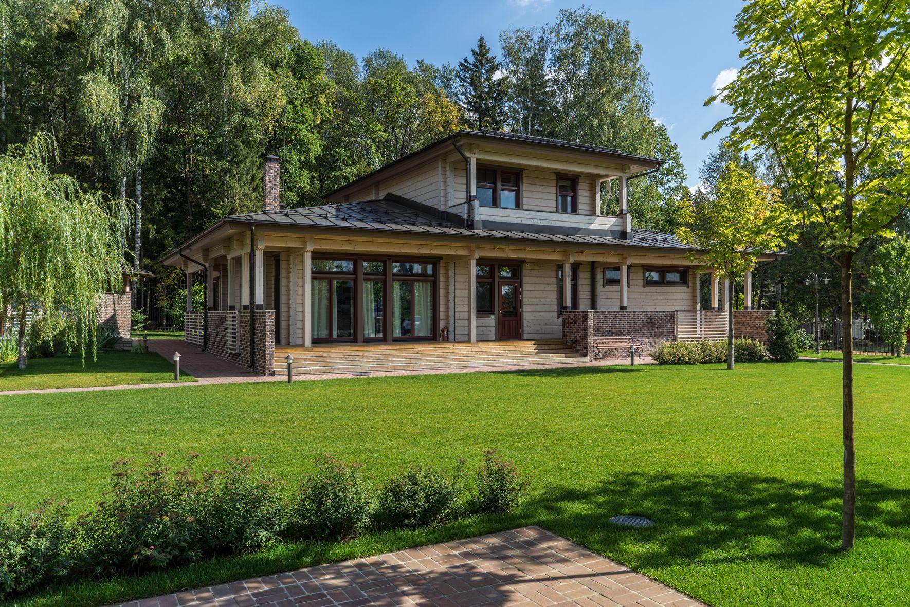 Современные финские проекты. Двухэтажная элитная баня Raami