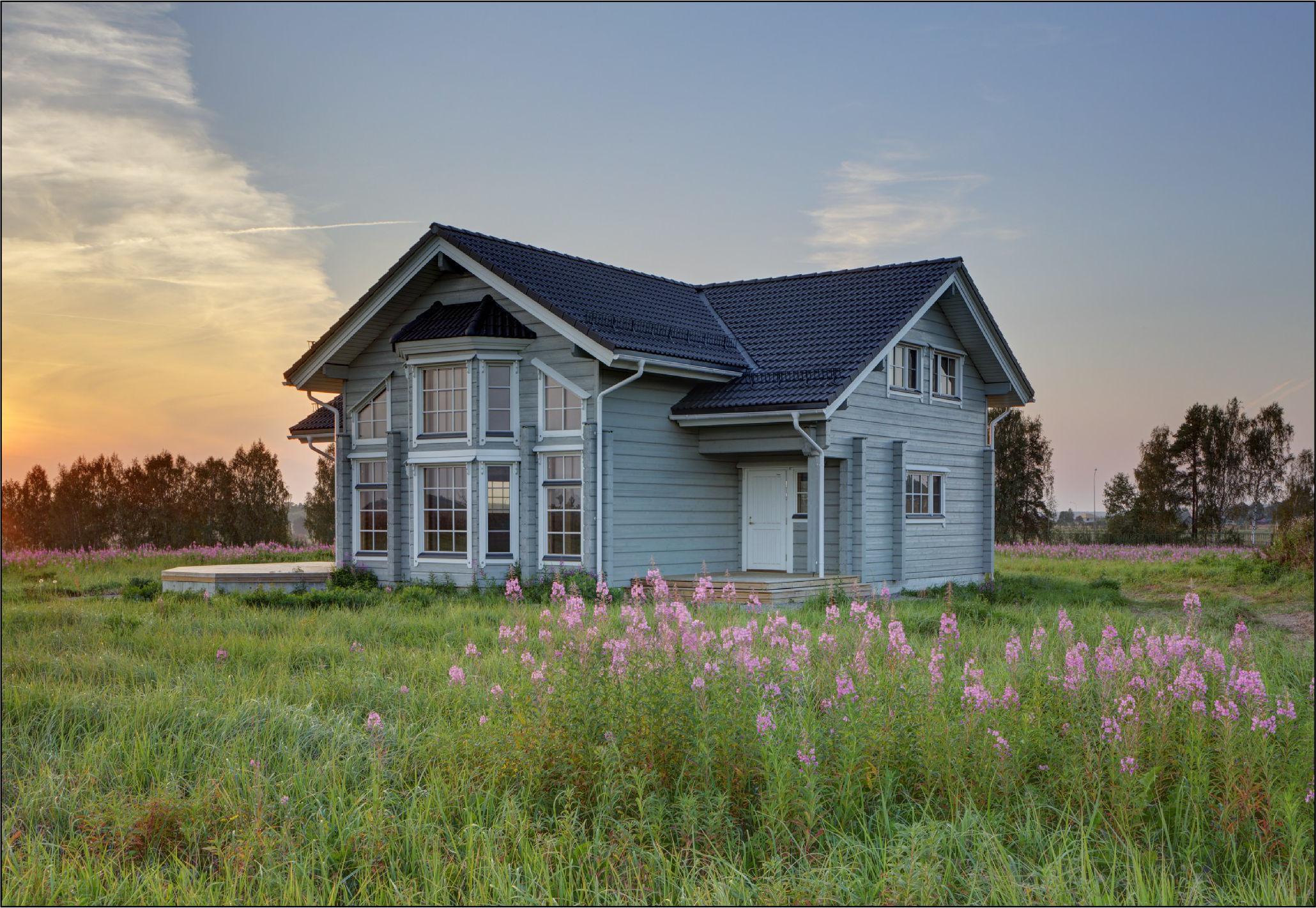 Дом на Иваньковском водохранилище в поселке