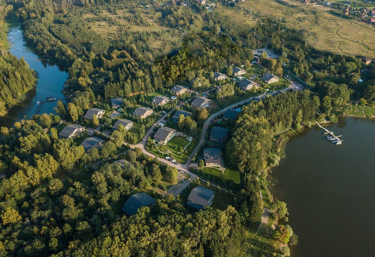 Инфраструктура коттеджного поселка Истринская Ривьера от HONKA