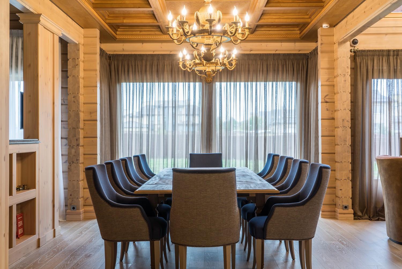 Лучший проект интерьера в деревянном доме