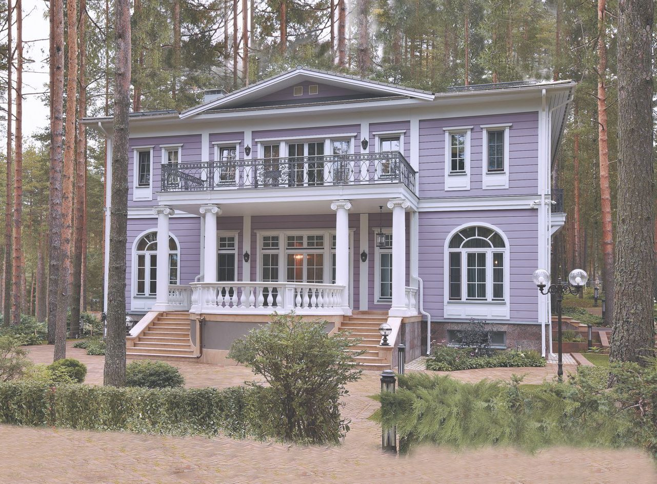 деревянный дом премиум-класса