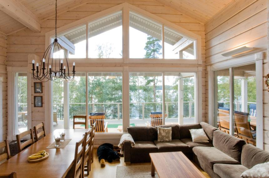 Лучшие проекты деревянных домов. Элитный коттедж Heijastus