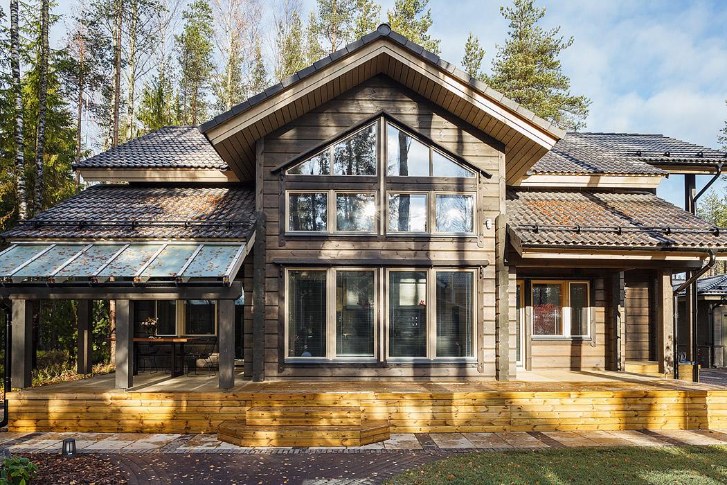 Деревянные дома хонка фото