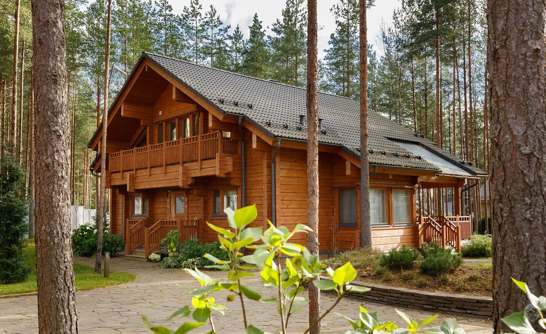 Заказать дом из Финляндии. Проект элитного особняка Simfonia