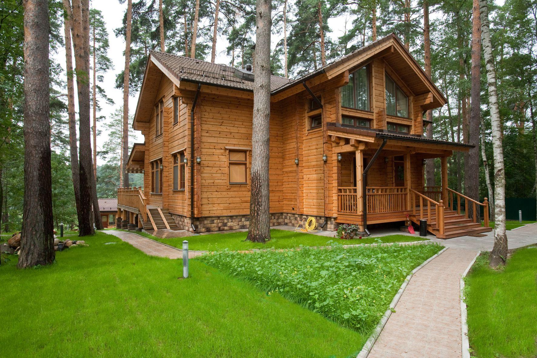 Проект элитного скандинавского дома Taiga из бруса HONKA