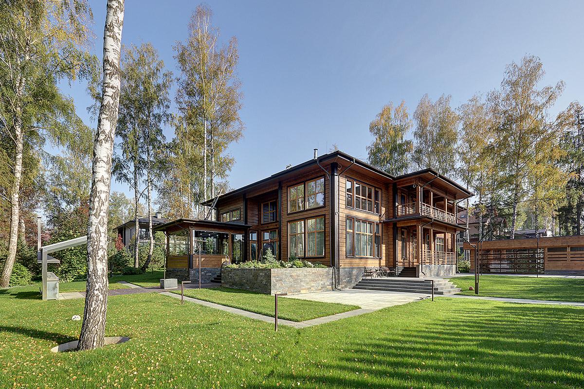 Эксклюзивный проект двухэтажного элитного коттеджа Lauta