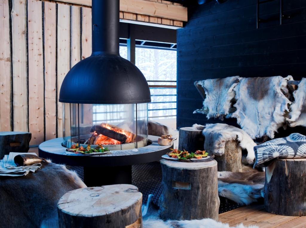 Курортный отель в Лапландии Levi Spirit от компании HONKA