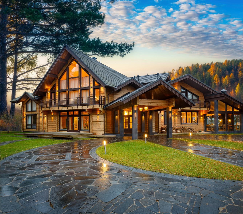 самый популярный деревянный дом