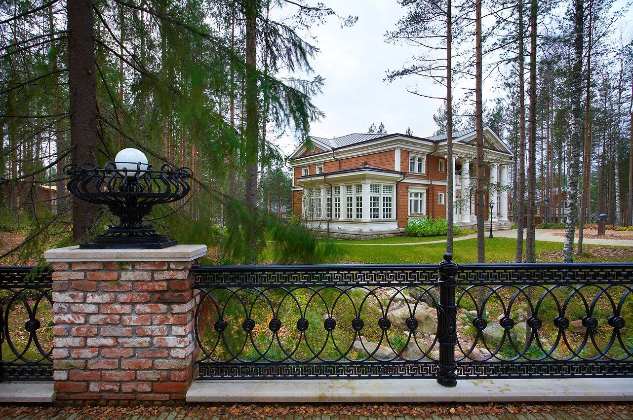 Строительство деревянных домов. Особняк Kartano из Финляндии