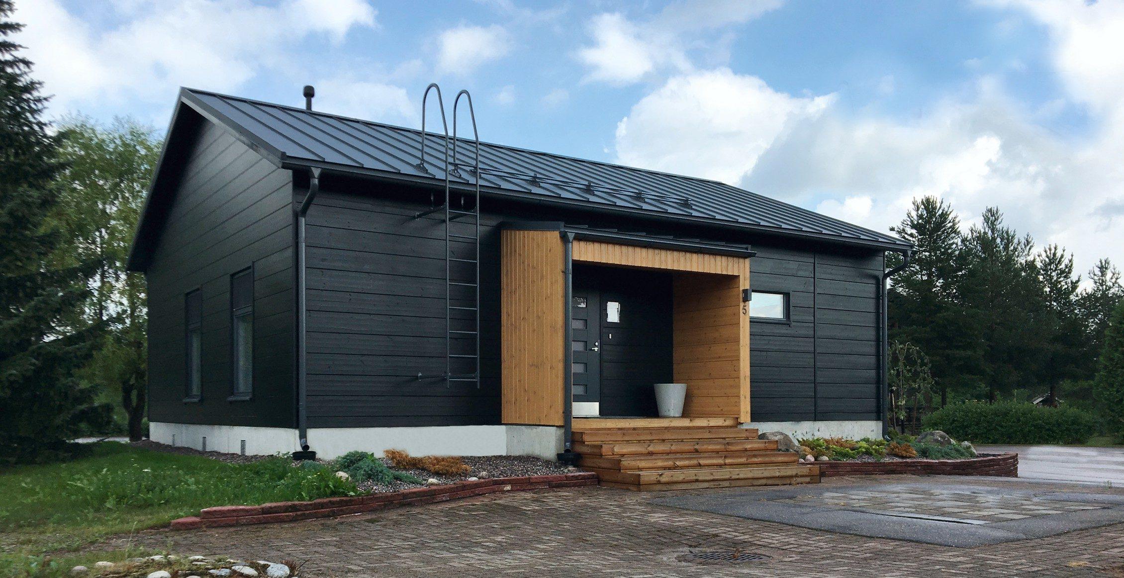 Лучшие деревянные дома из финского бруса. Элитный коттедж Vista