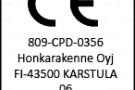 Клееная древесина финского концерна HONKA отмечена знаком Европейского стандарта CE