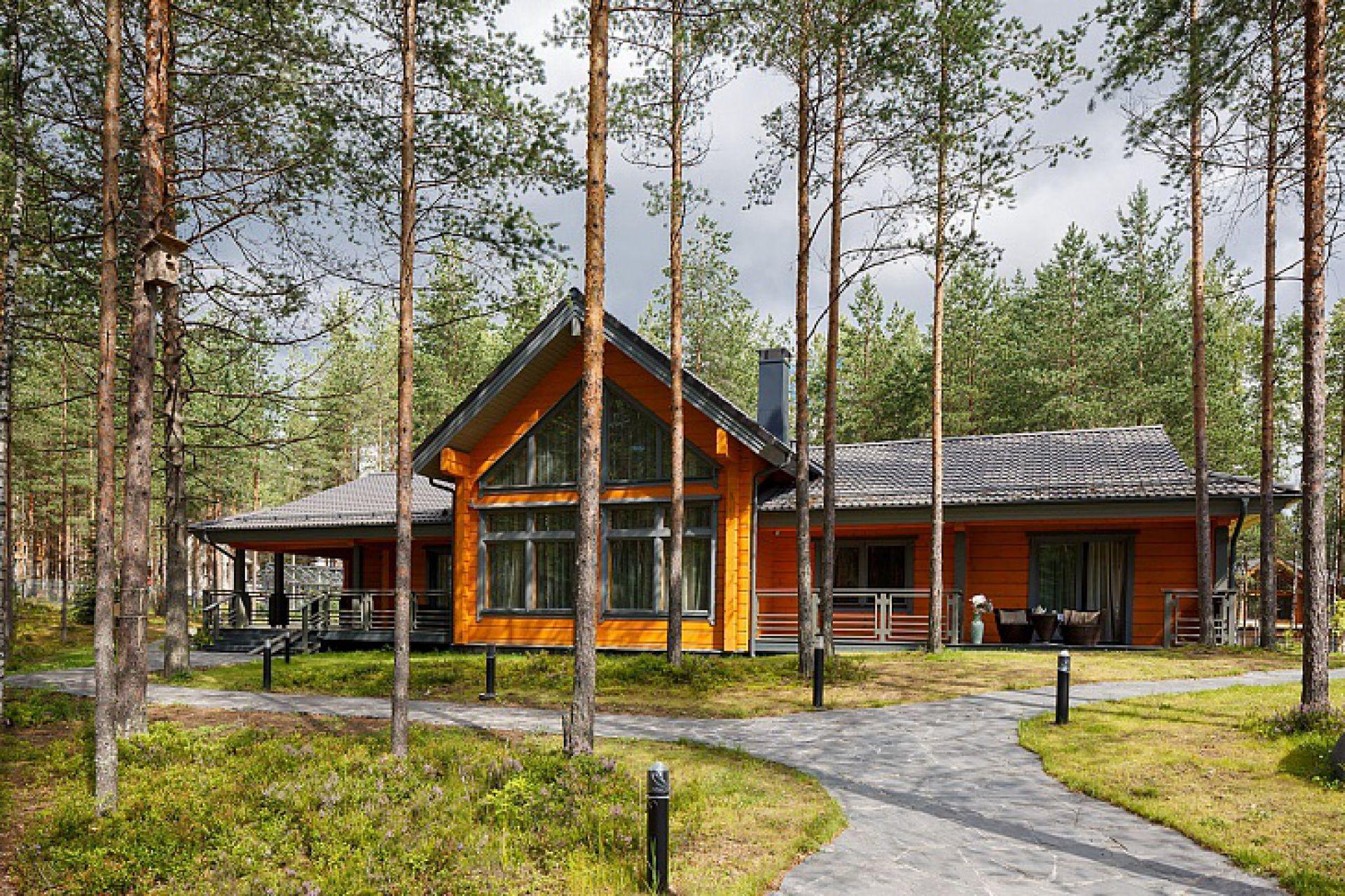 Два дома HONKA участвуют в конкурсе «Красивые деревянные дома – 2018»
