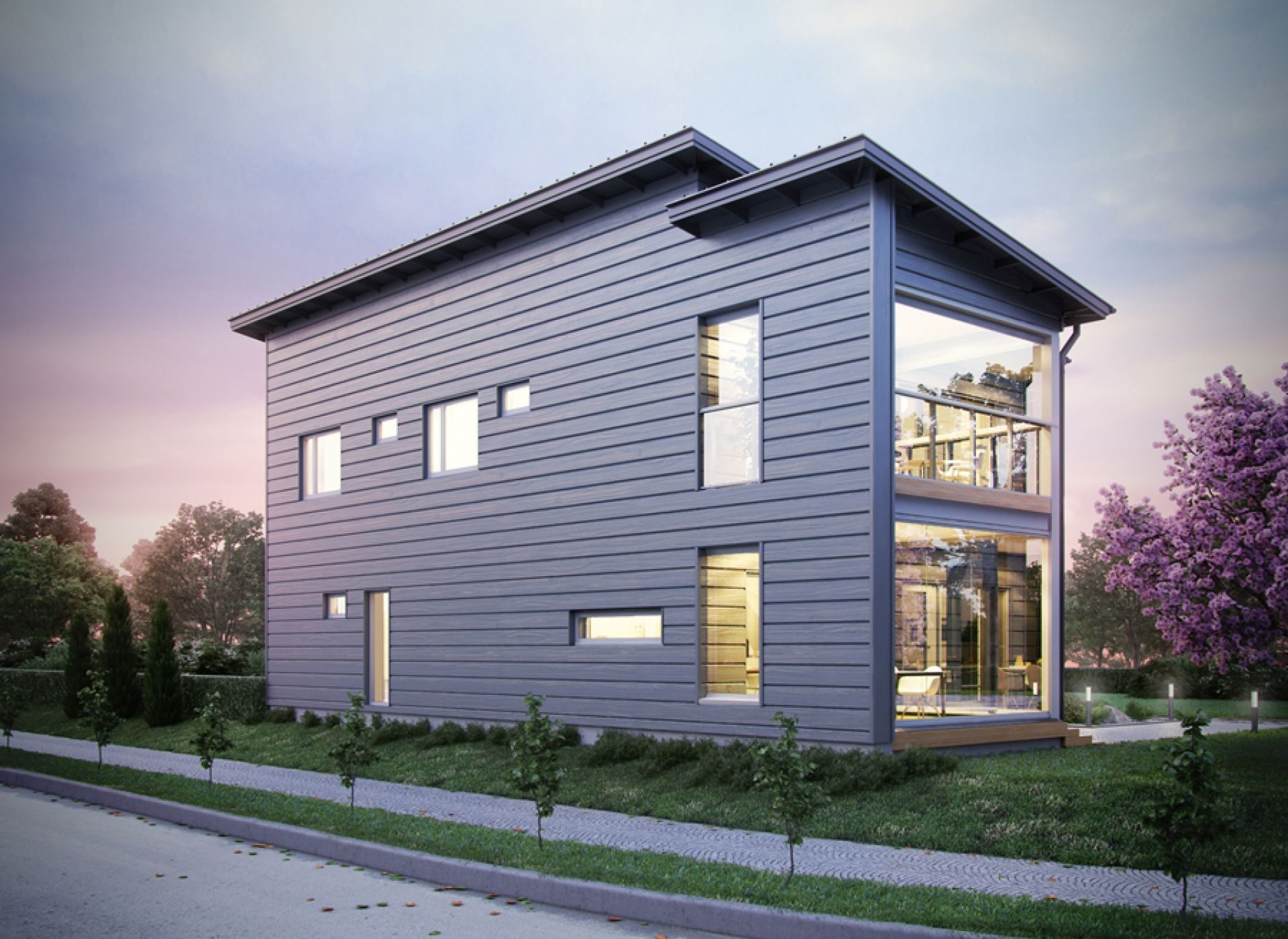 Два новых дома HONKA