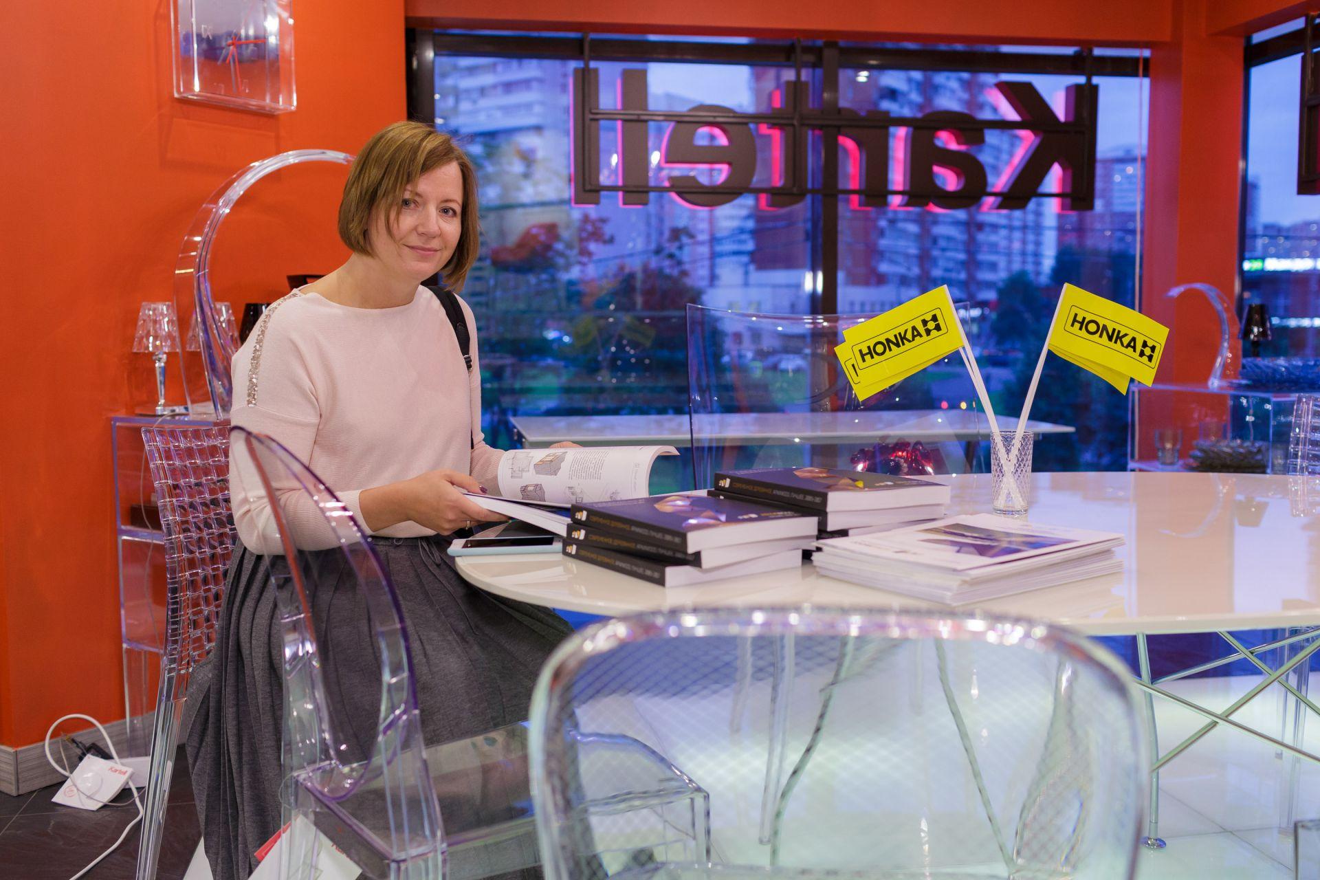 HONKA поддержала дизайнерский мастер-класс в Джиэльти
