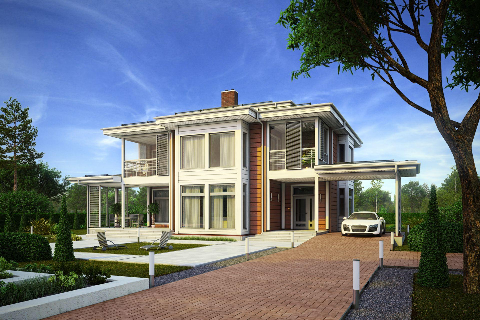 Уникальный комплекс резиденций от HONKA: строительство продолжается