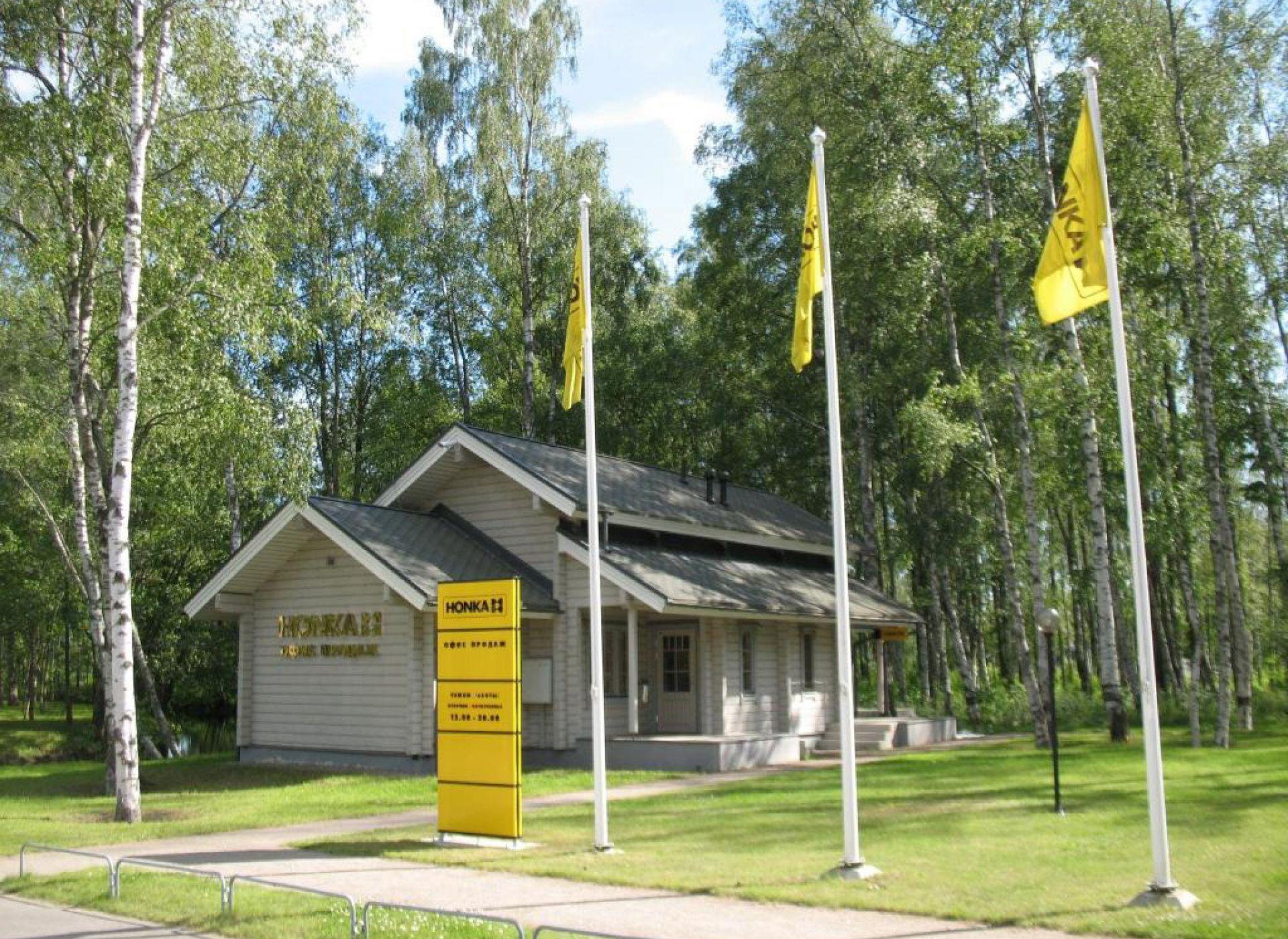 HONKA открыла новый офис продаж в Курортном районе Санкт-Петербурга, в Сестрорецке.
