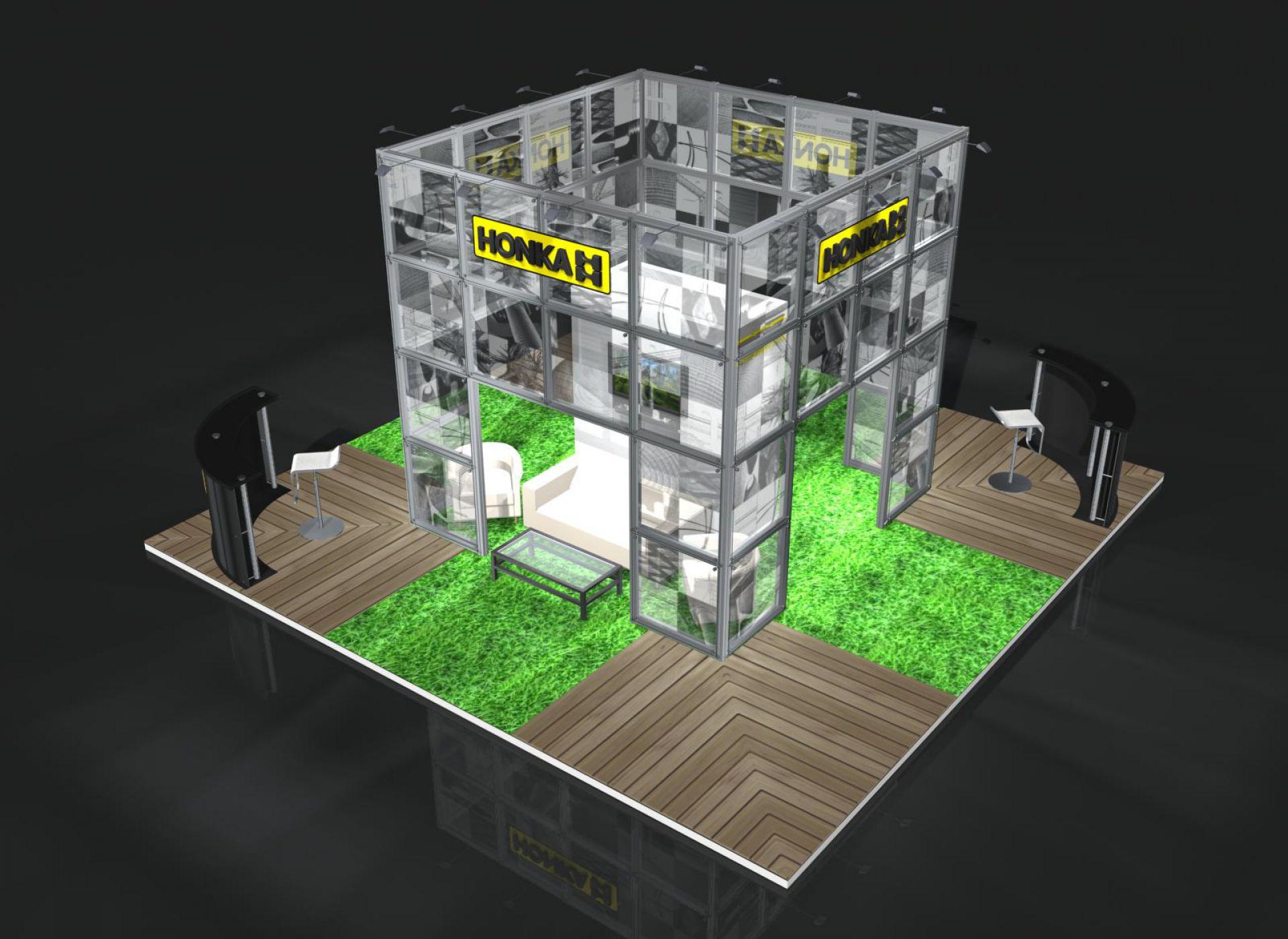 HONKA примет участие и выступит генеральным спонсором выставки «Деревянный дом 2012» с 15 по 18 марта 2012.