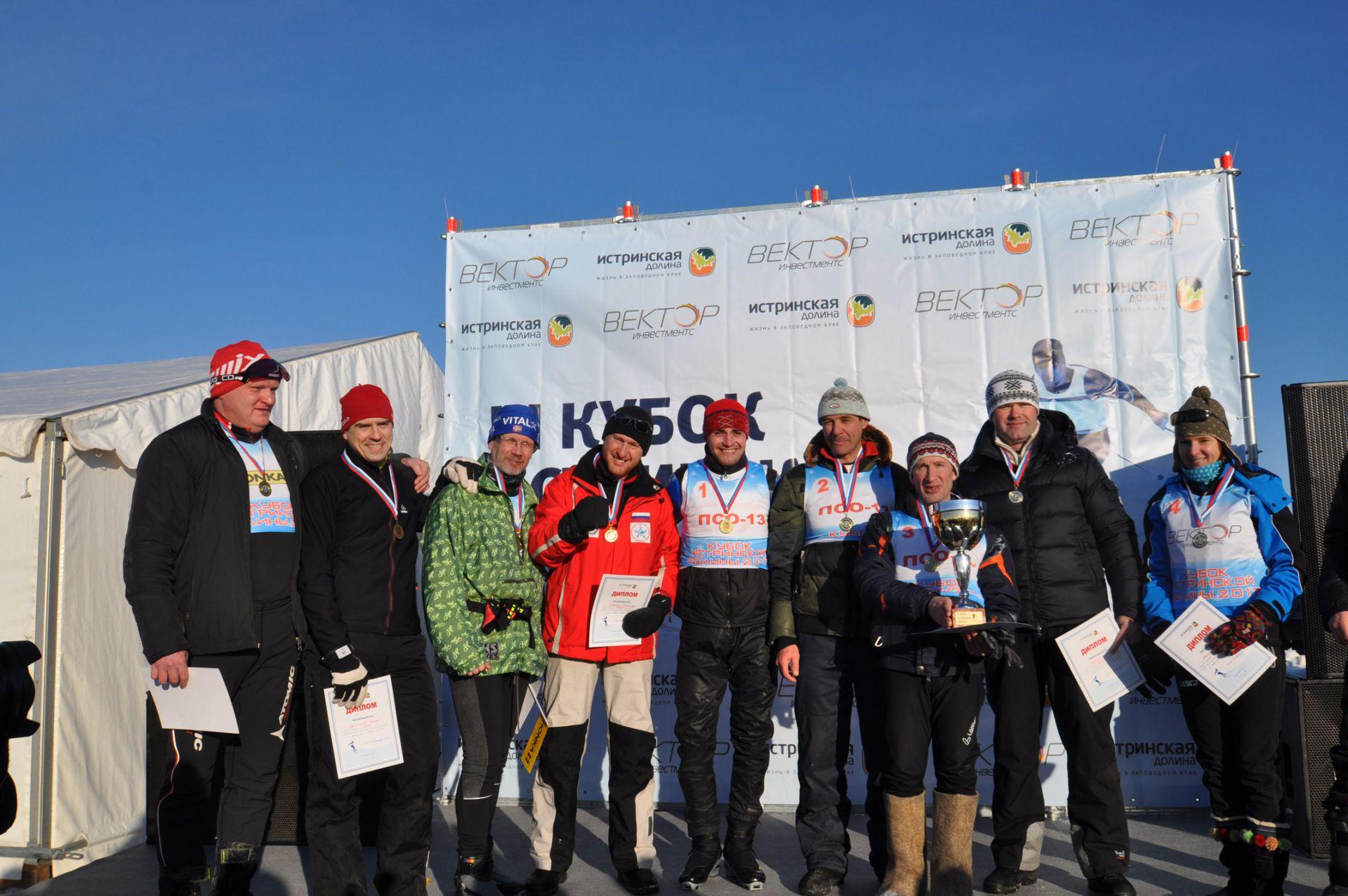 Команда HONKA заняла призовое место в III Кубке Истринской долины по лыжным гонкам