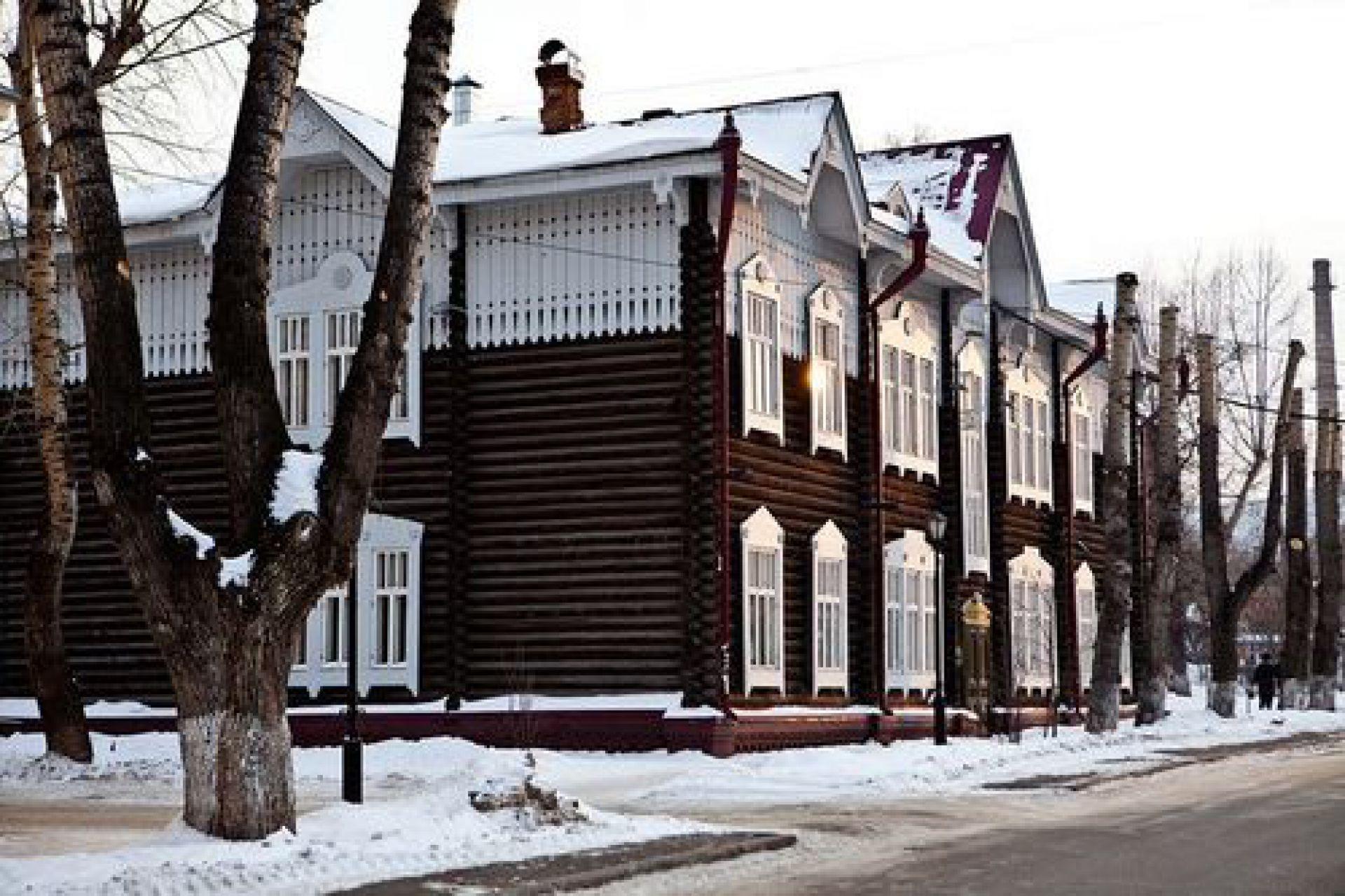 Экспедиция АРХИWOOD в Томске