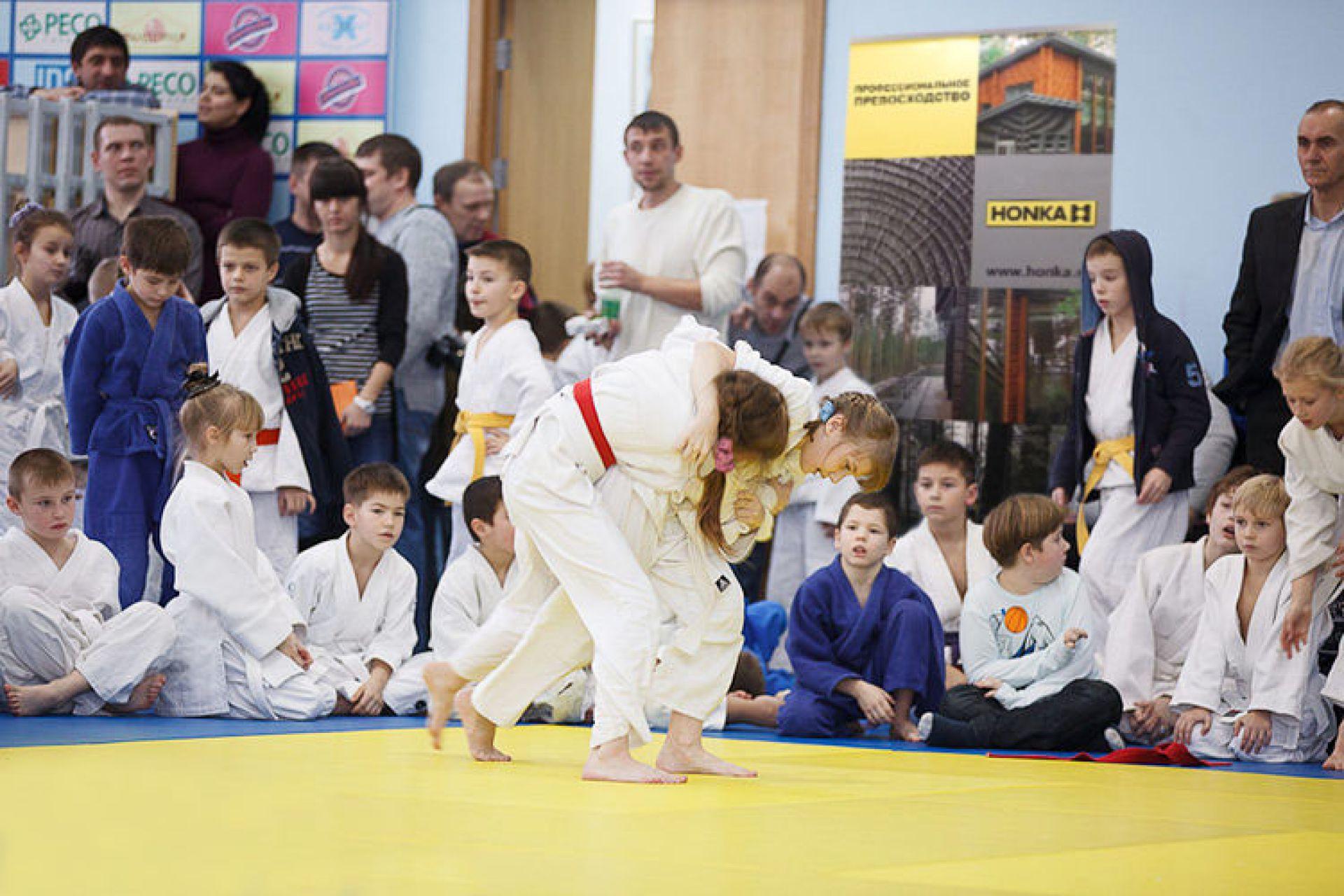 HONKA поддержала Всероссийский турнир по детскому дзюдо