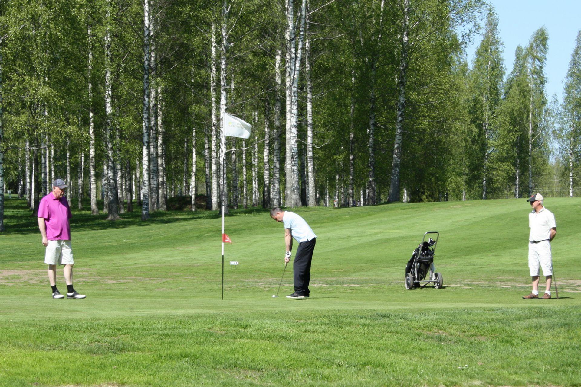 Honka — партнер турниров по гольфу