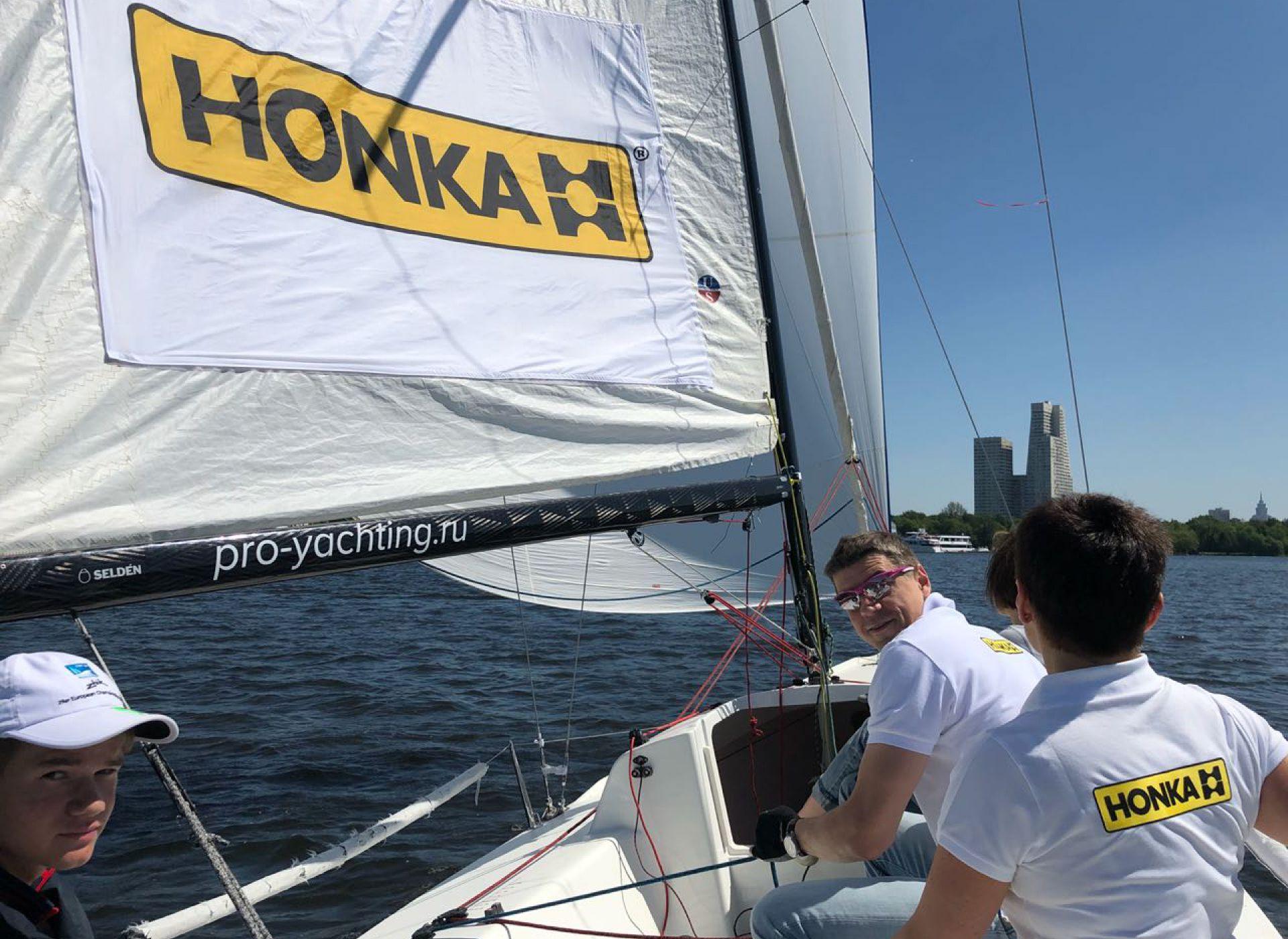 HONKA и Истринская долина — спонсоры Moscow Yacht Show 2018