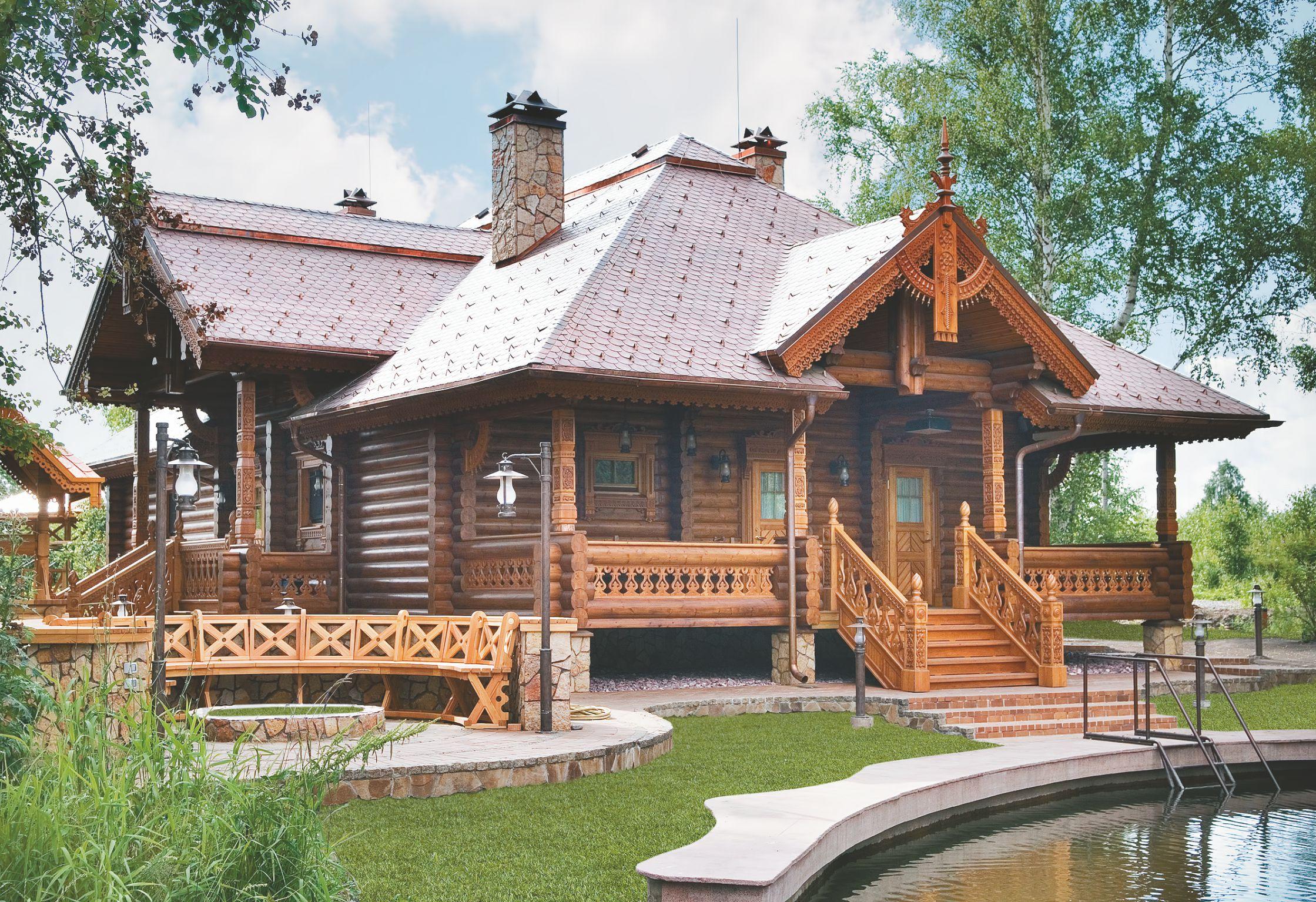 Строительство финских деревянных бань под ключ. Проект Satu