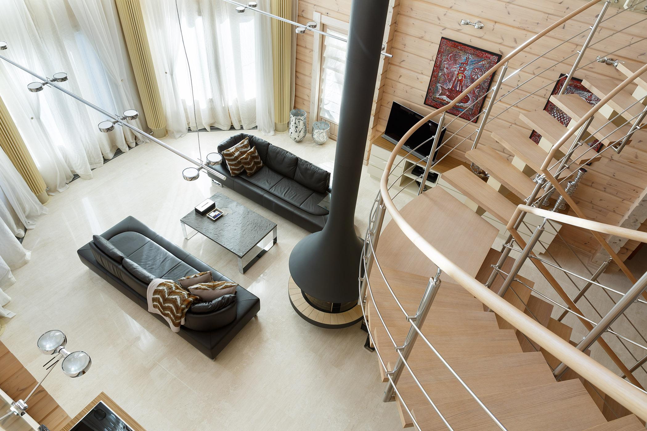 Дом из клееного бруса. Строительство. Проект премиум-класса Siluetti