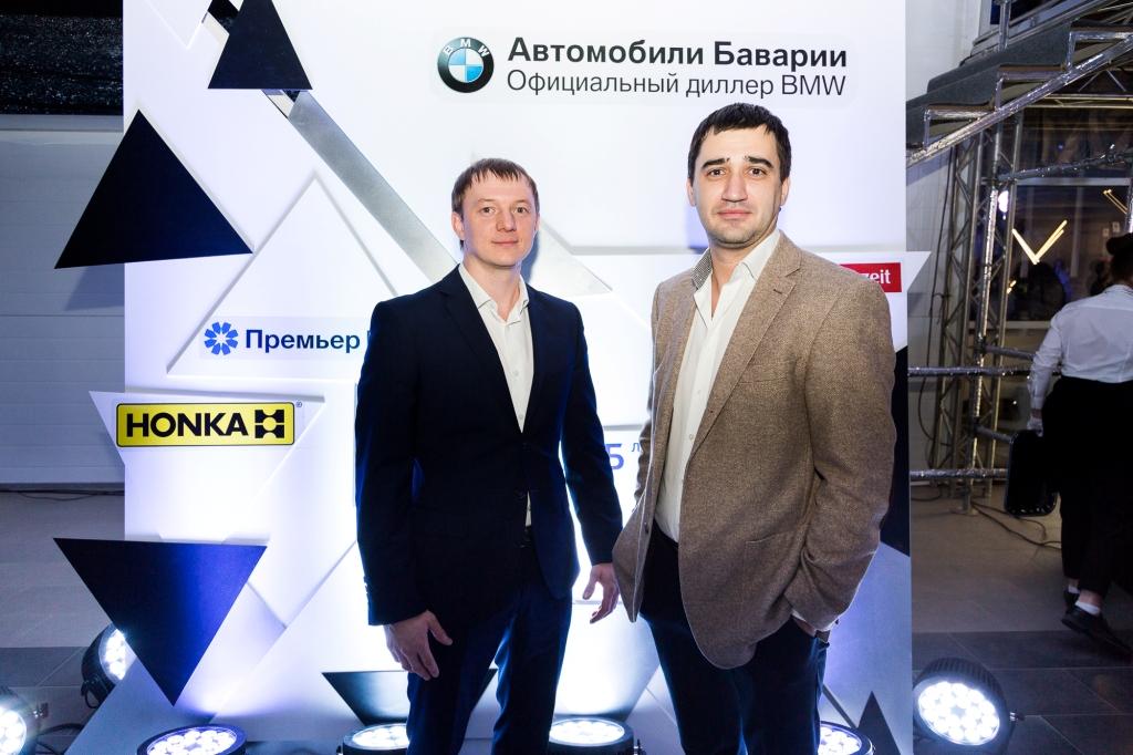 HONKA спонсор презентации нового BMW X5 в Перми