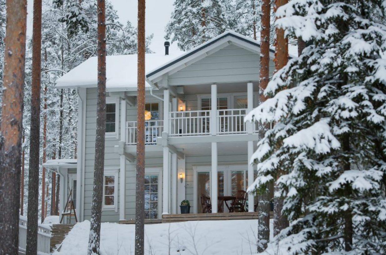 Проект современного финского дома Kunnas