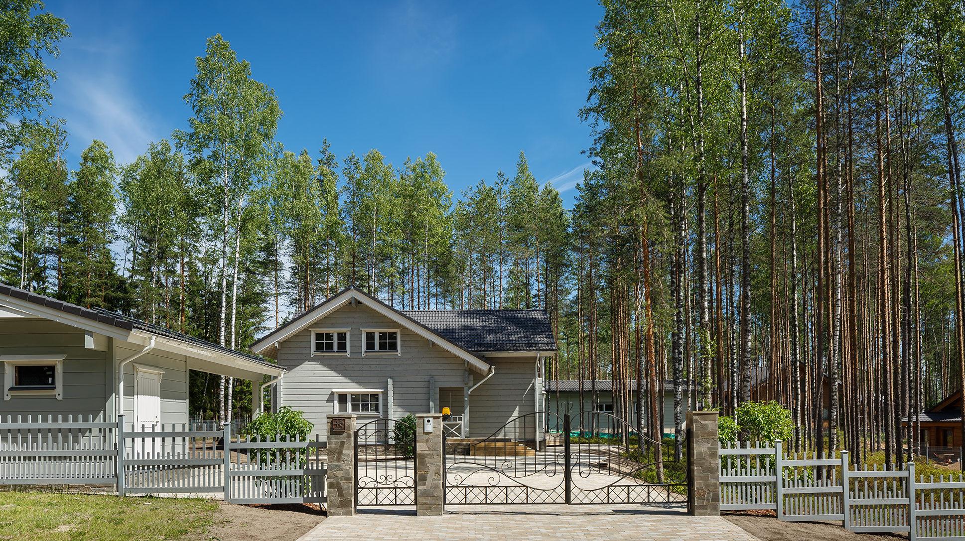 Дом Ajatonta в поселке Медное Озеро 2