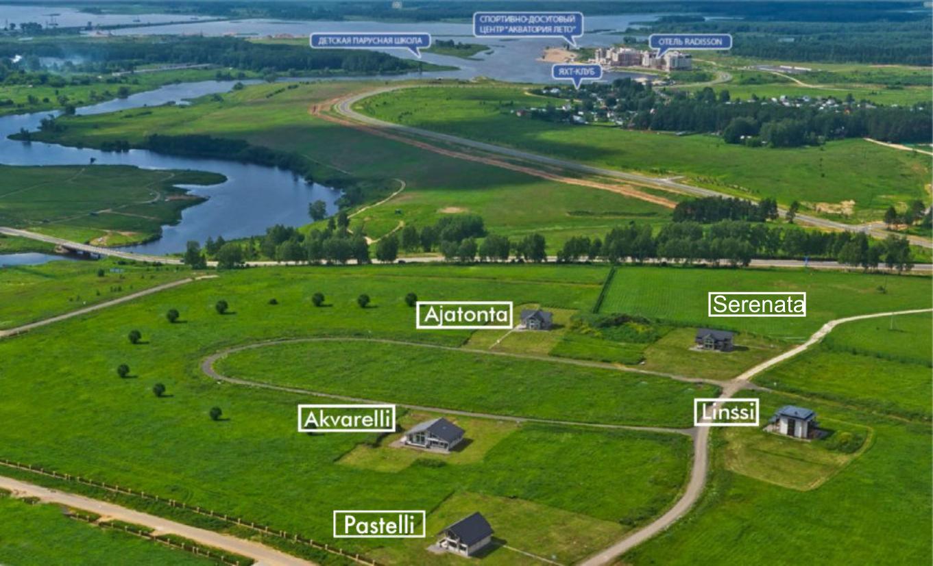 Загородный комплекс в Тверской области Завидово HONKA