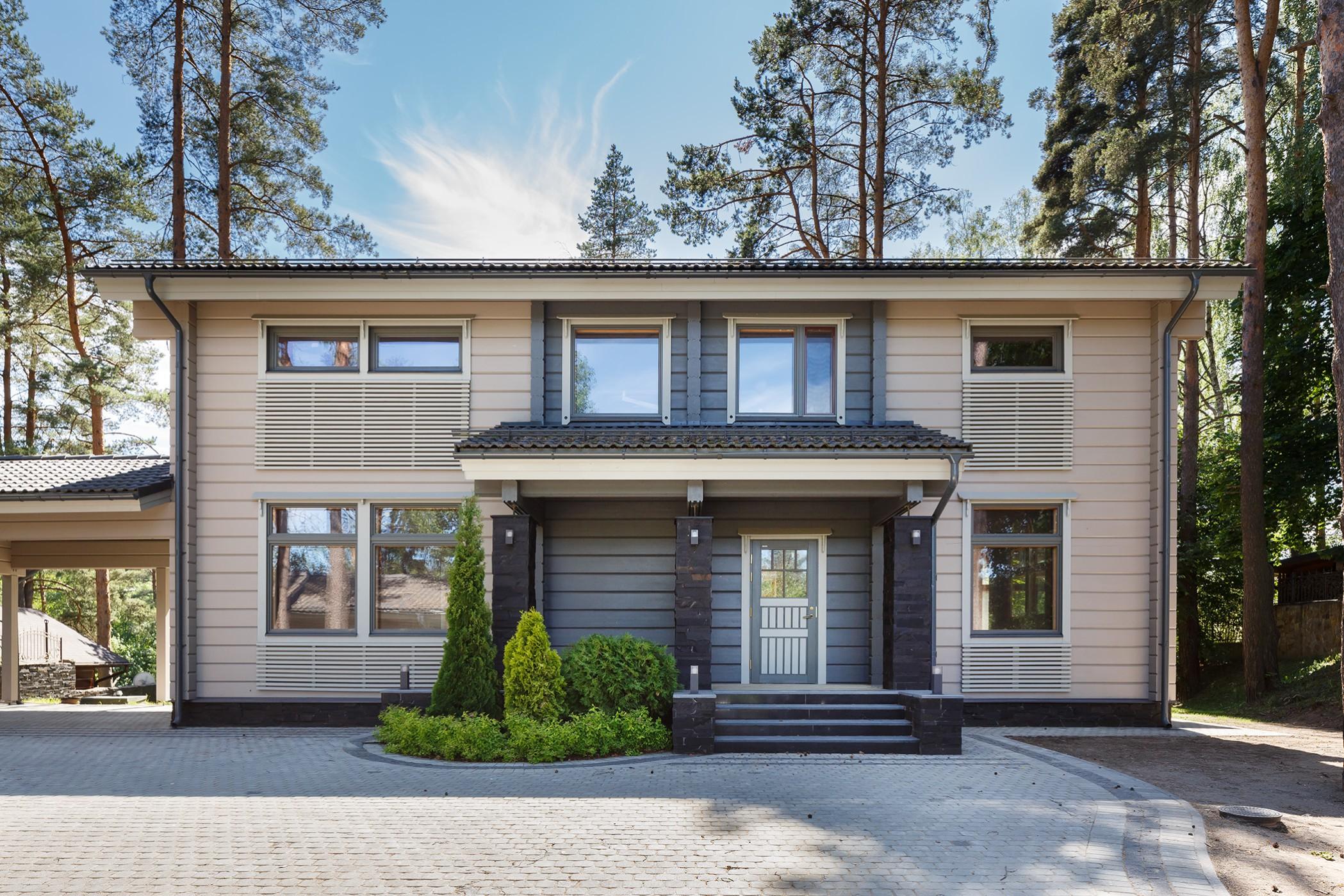 Готовый финский дом Horisontti от компании HONKA