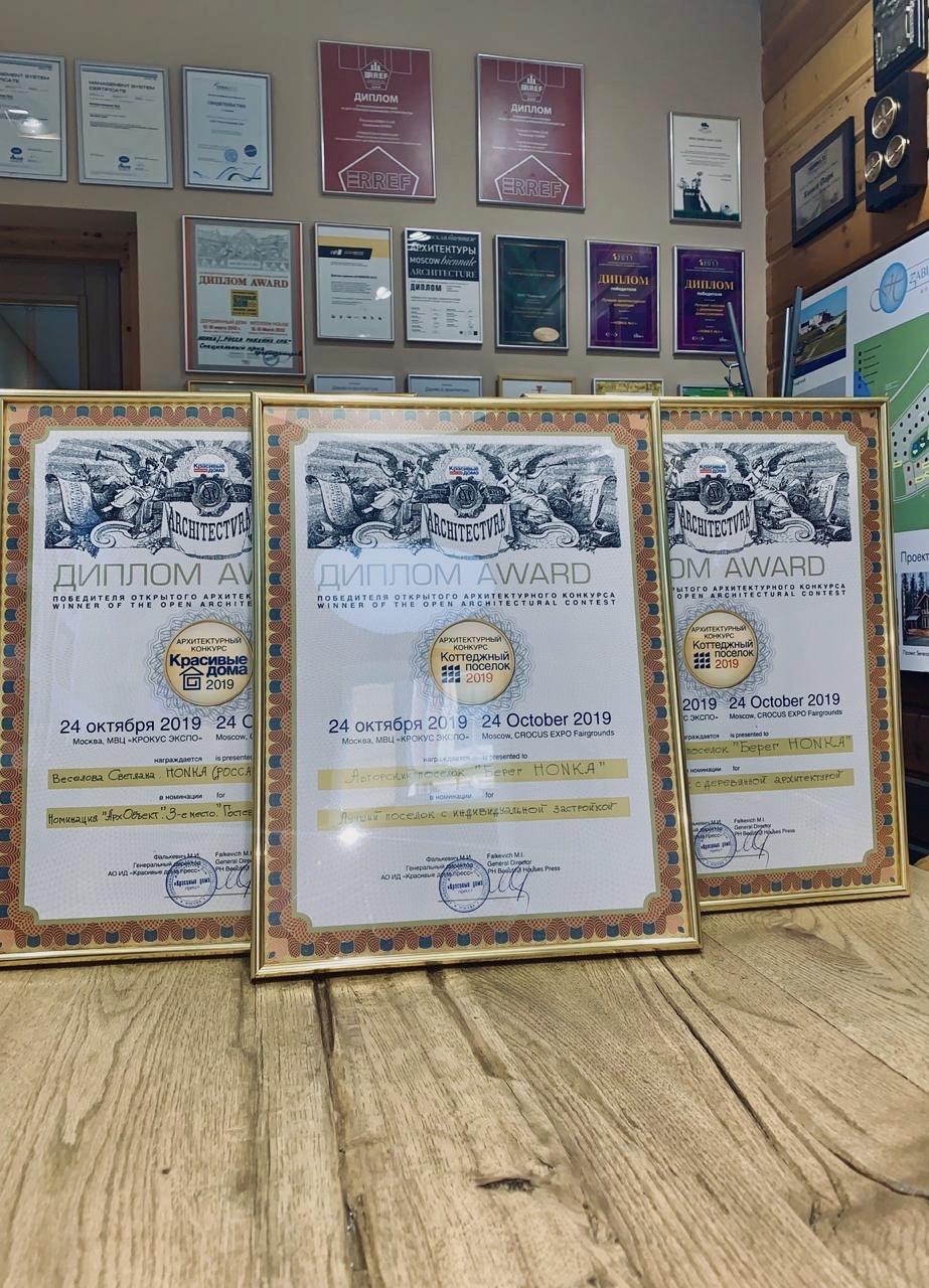 Итоги конкурса «Коттеджный поселок 2019» и «Красивые дома 2019»