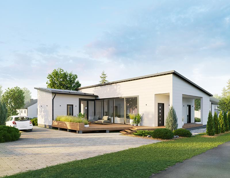 «Умный» деревянный дом от компании HONKA на домостроительной выставке Asuntomessut 2020
