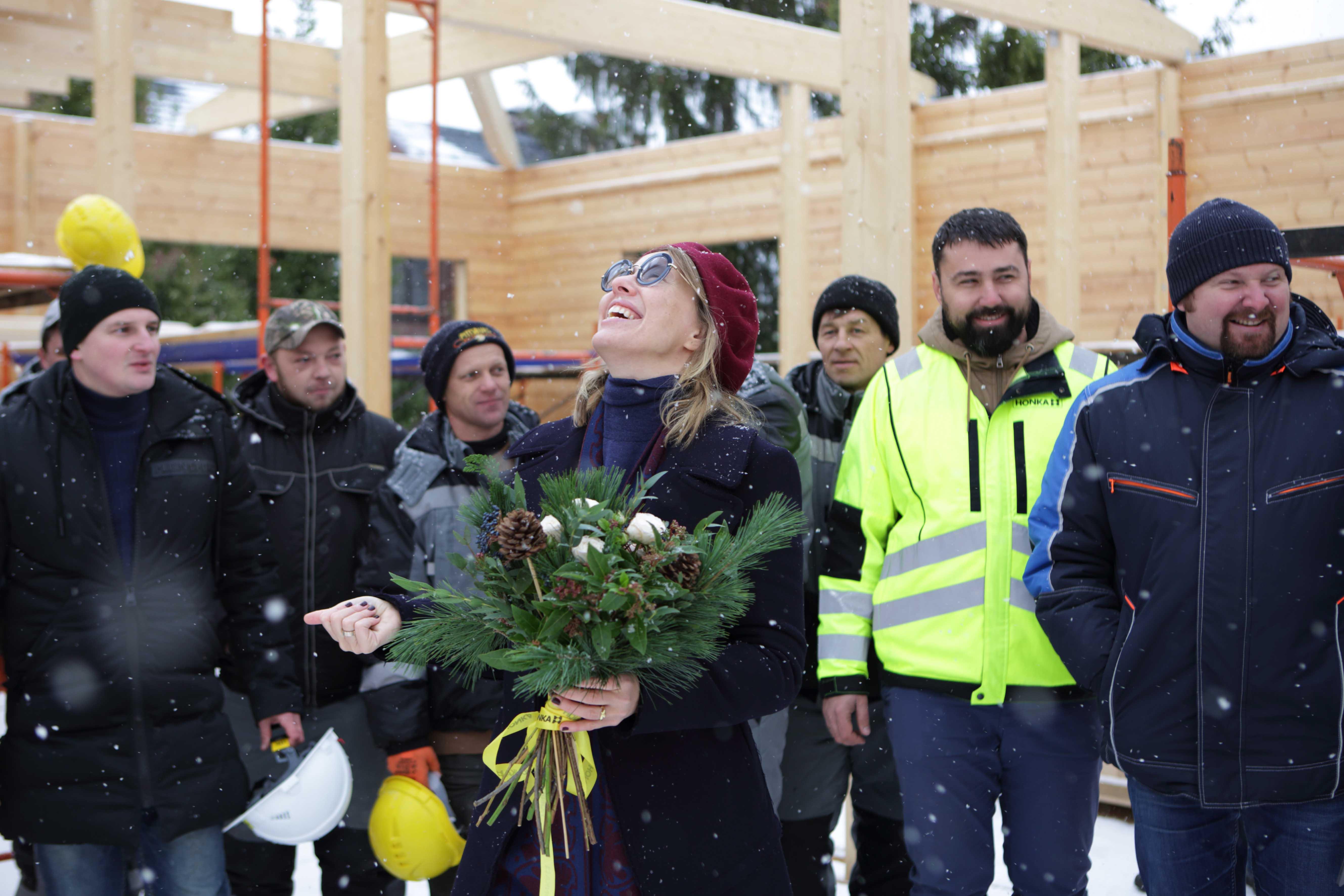 Праздник конька в новом доме Ксении Собчак