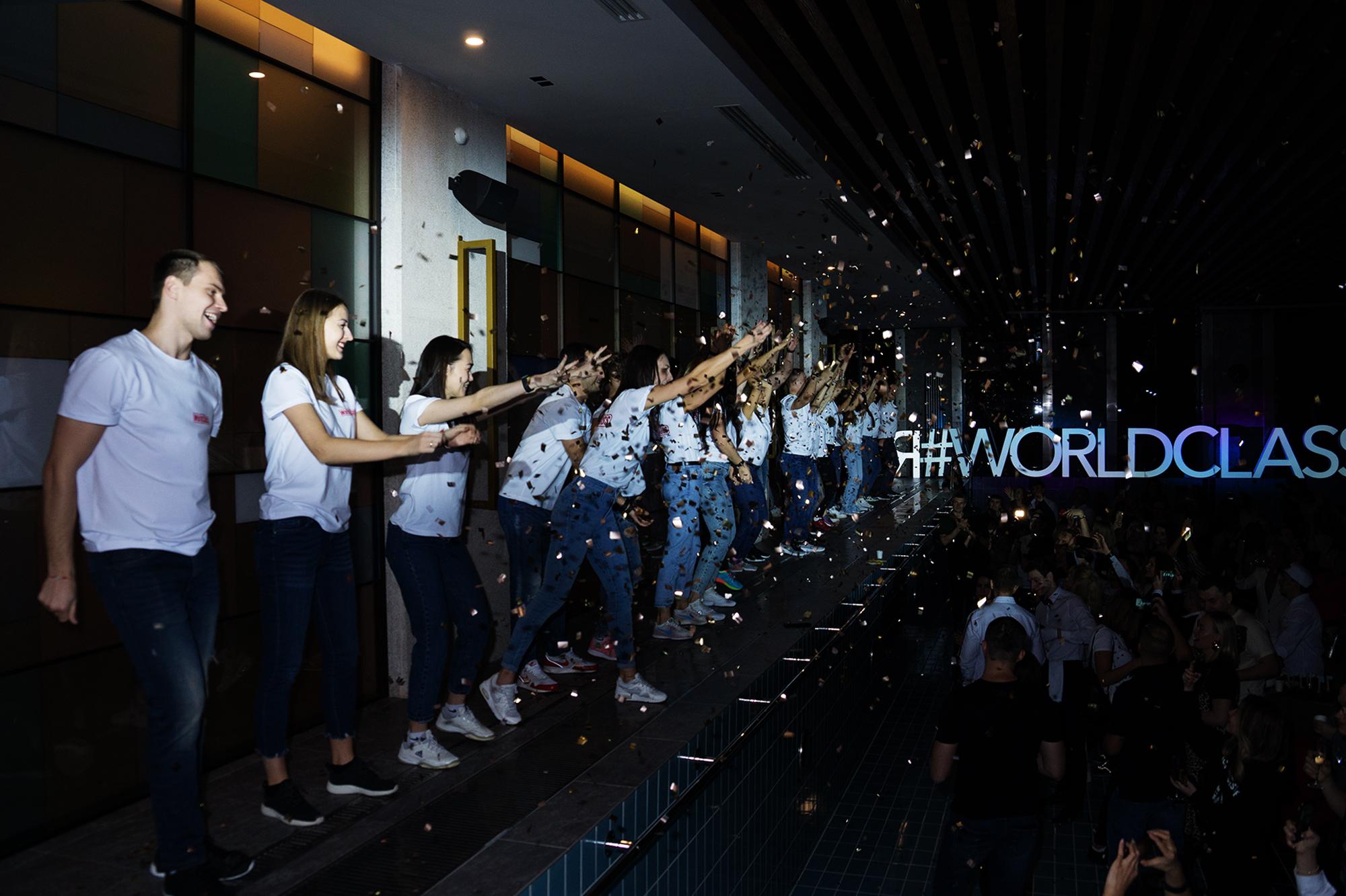 День Рождения WorldClass Новосибирск при поддержке HONKA