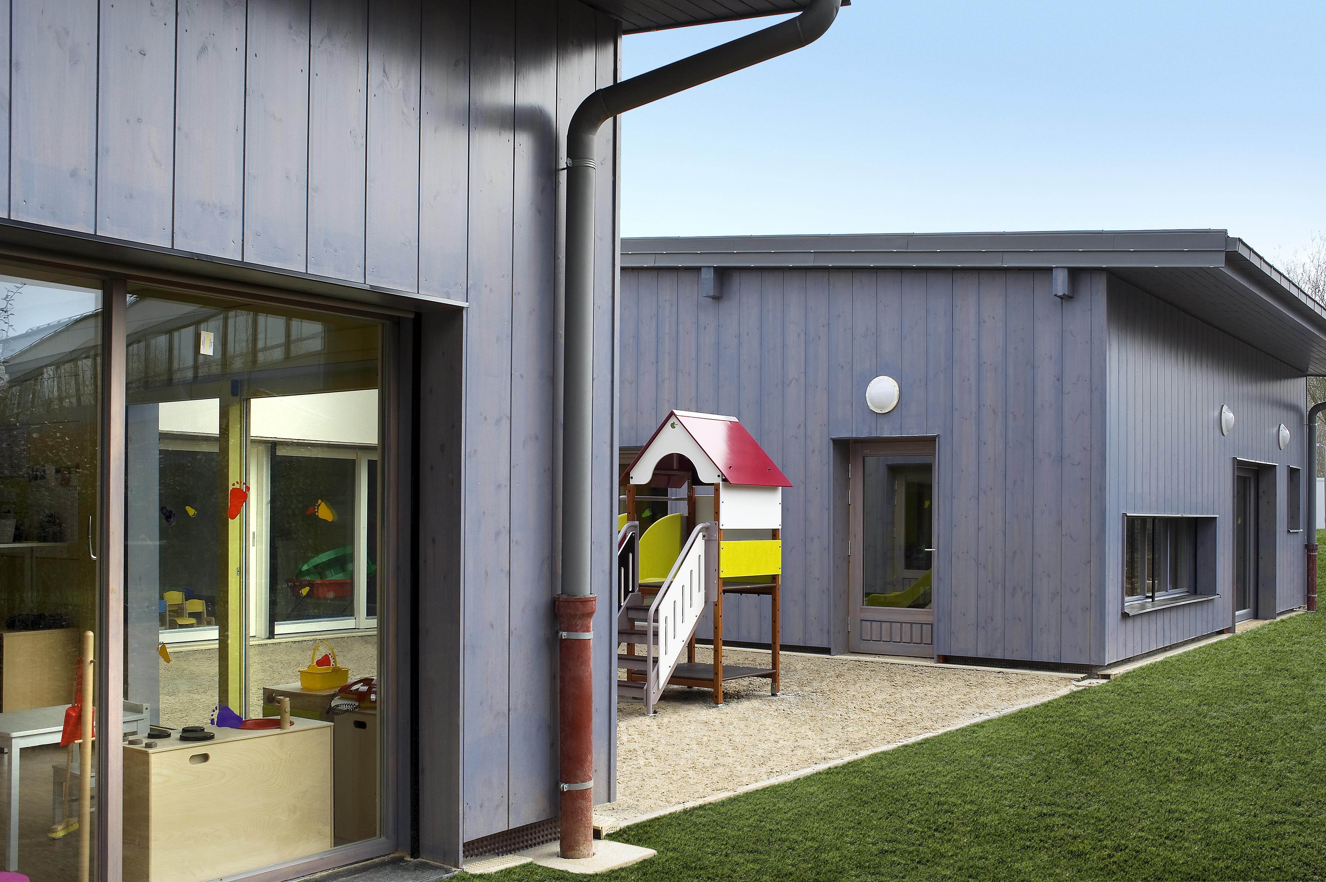 Детский сад и школа в городе Оулу