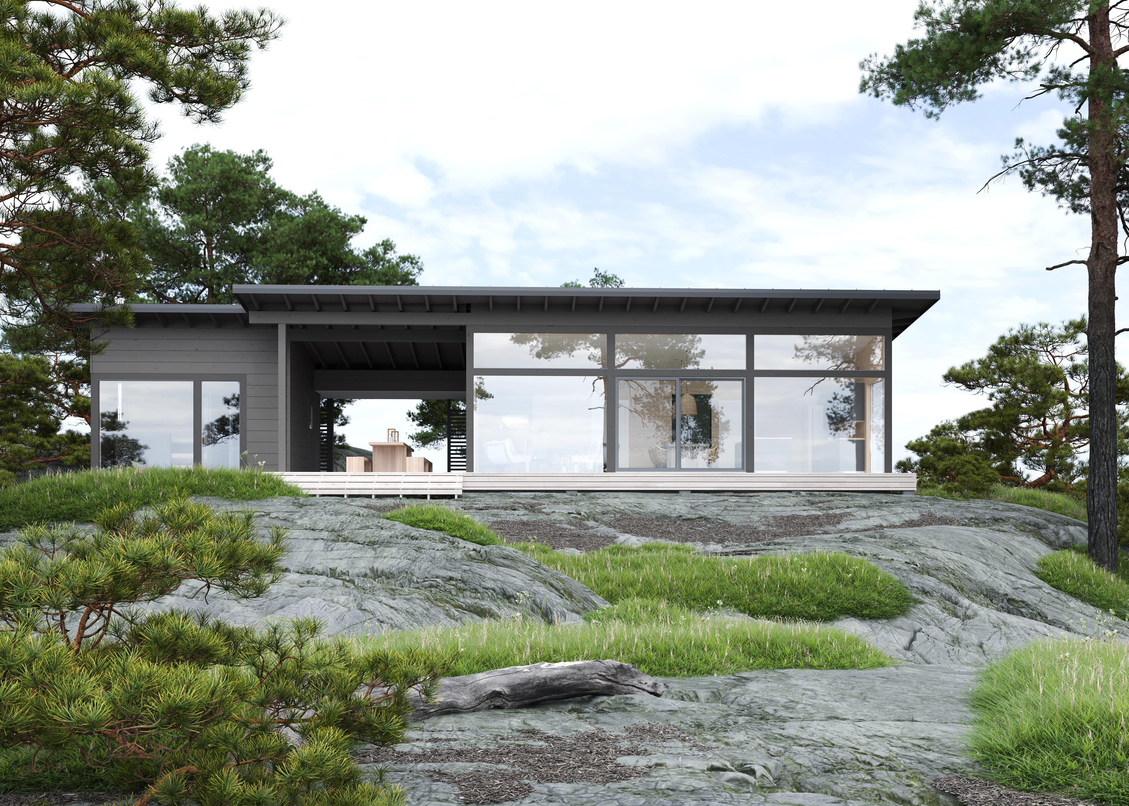 Новый компактный дом в коллекции HONKA