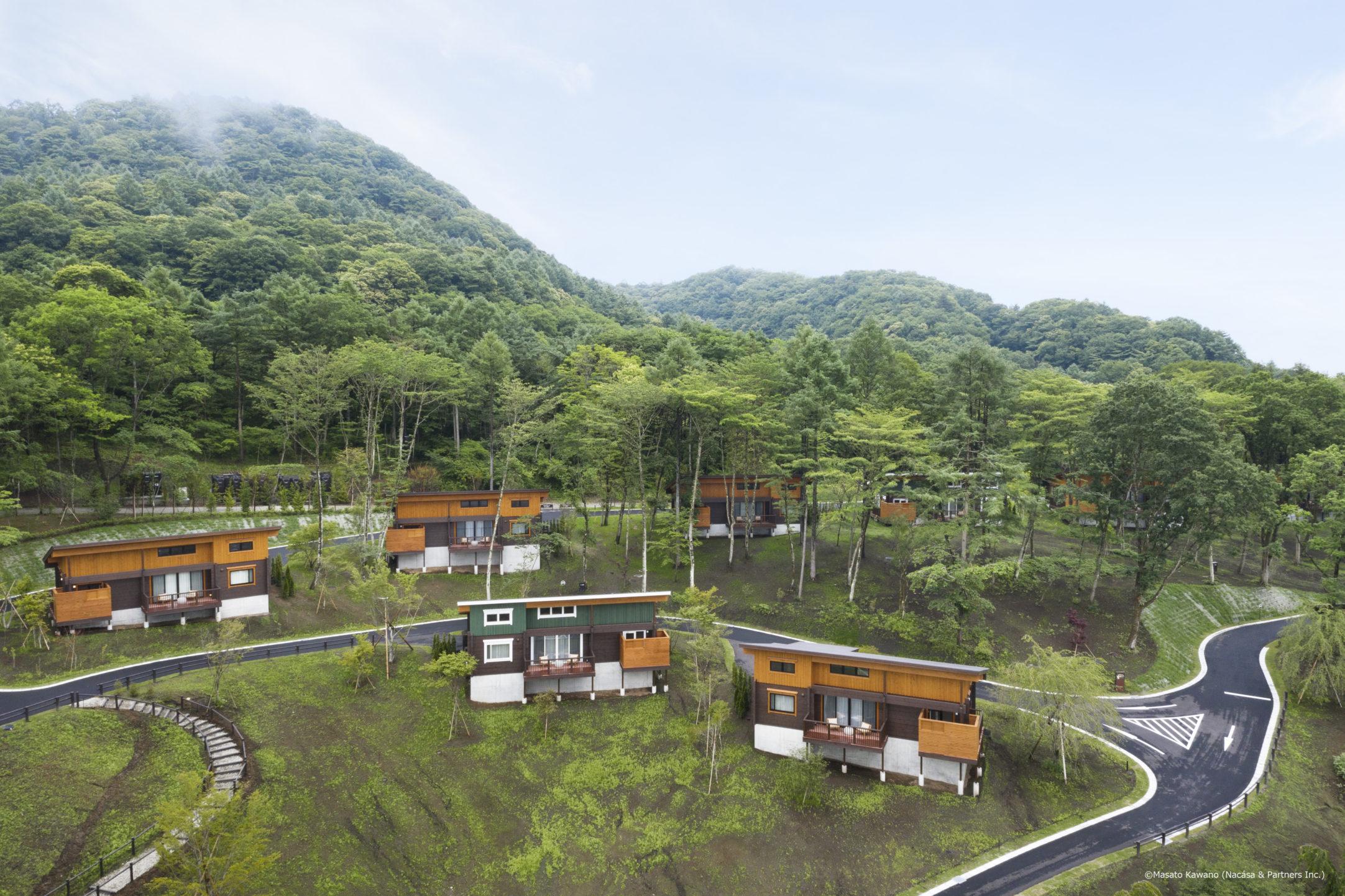 проект курортного отеля HONKA ASAMA