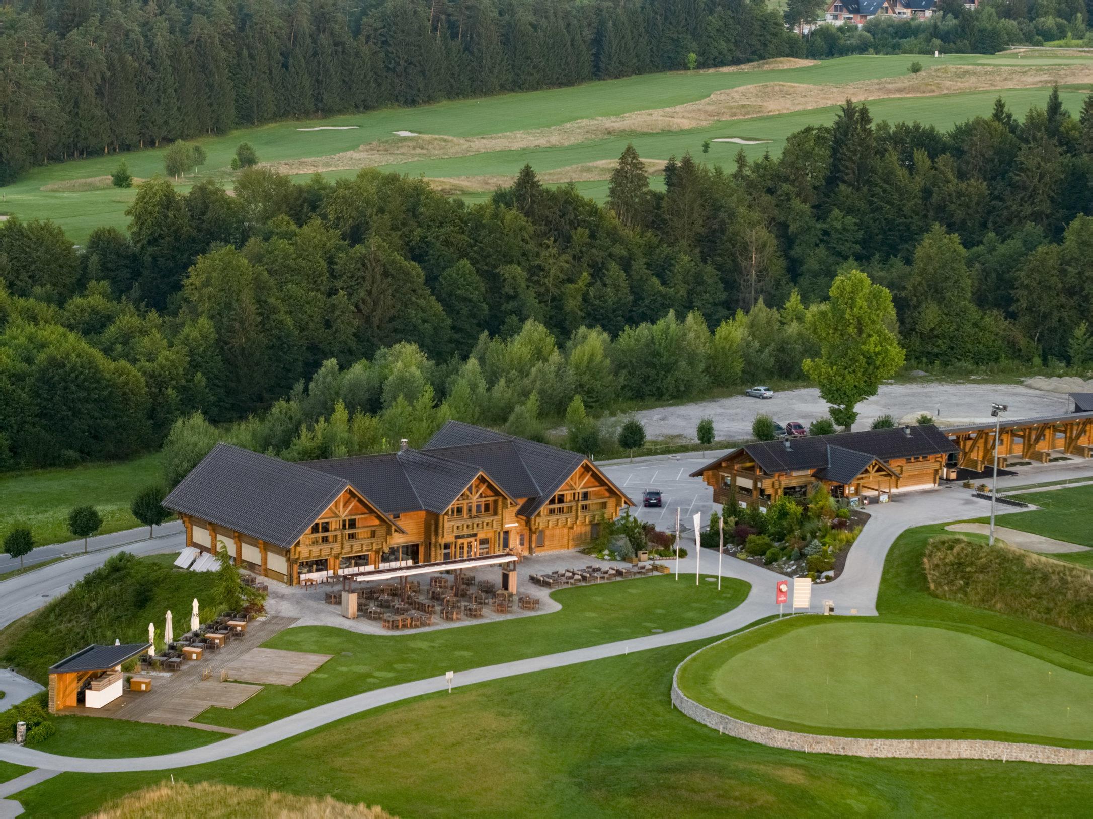проект гольф-клуба