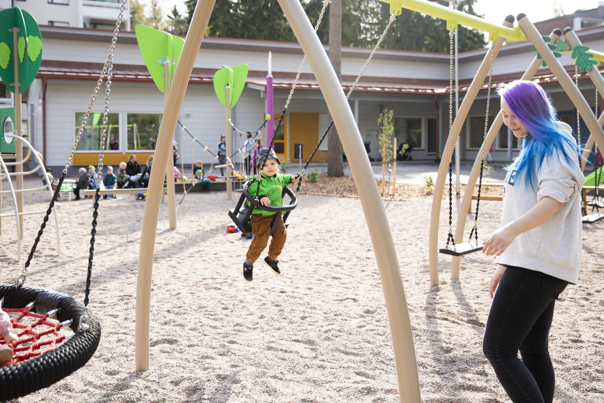 проект детского сада из бруса