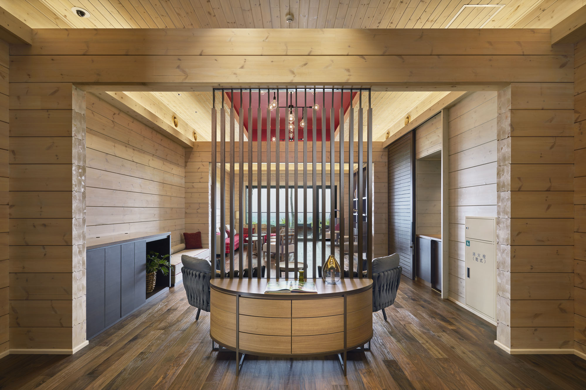 проект курортного отеля HONKA ASAMA Prince
