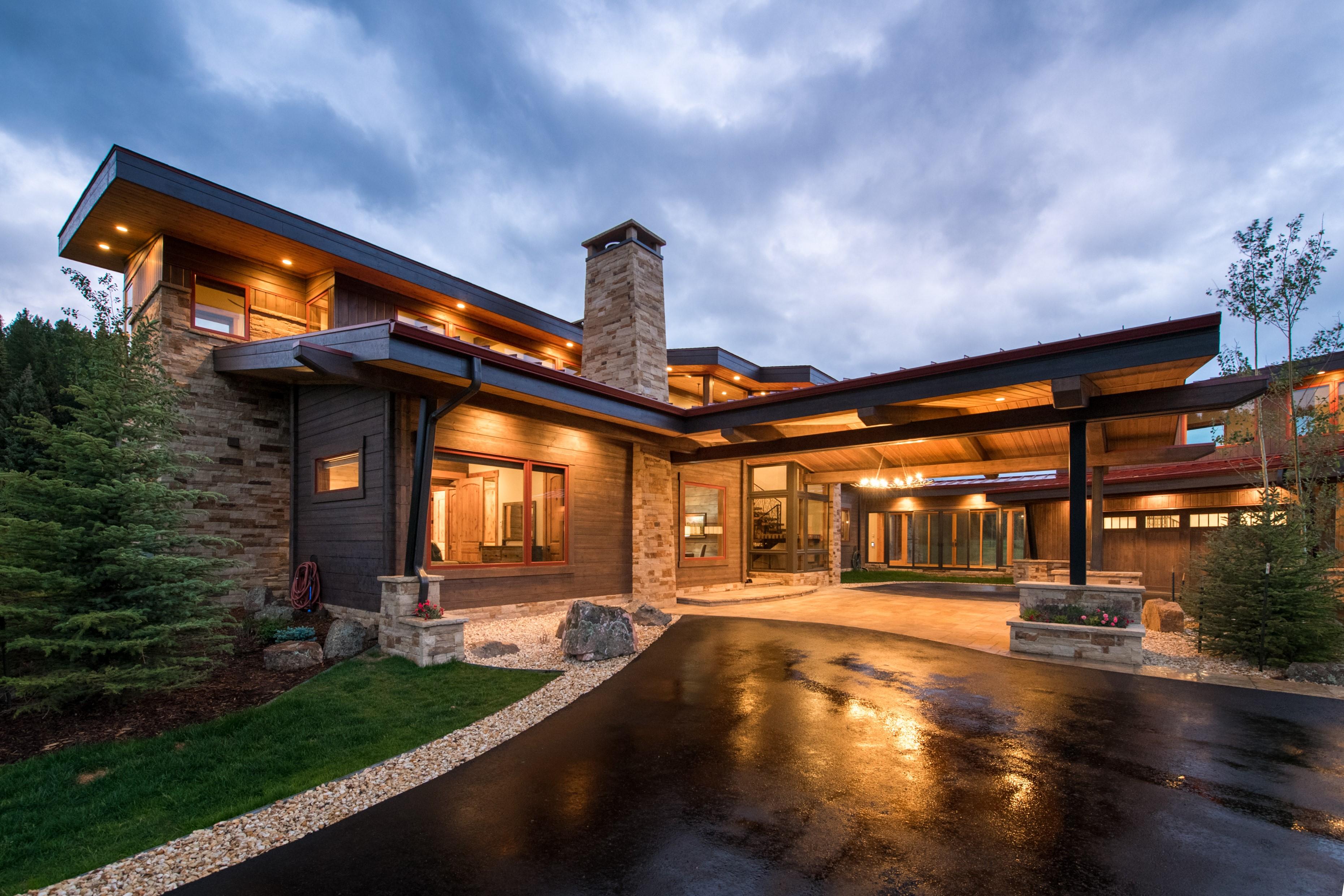 американский проект дом Martis HONKA
