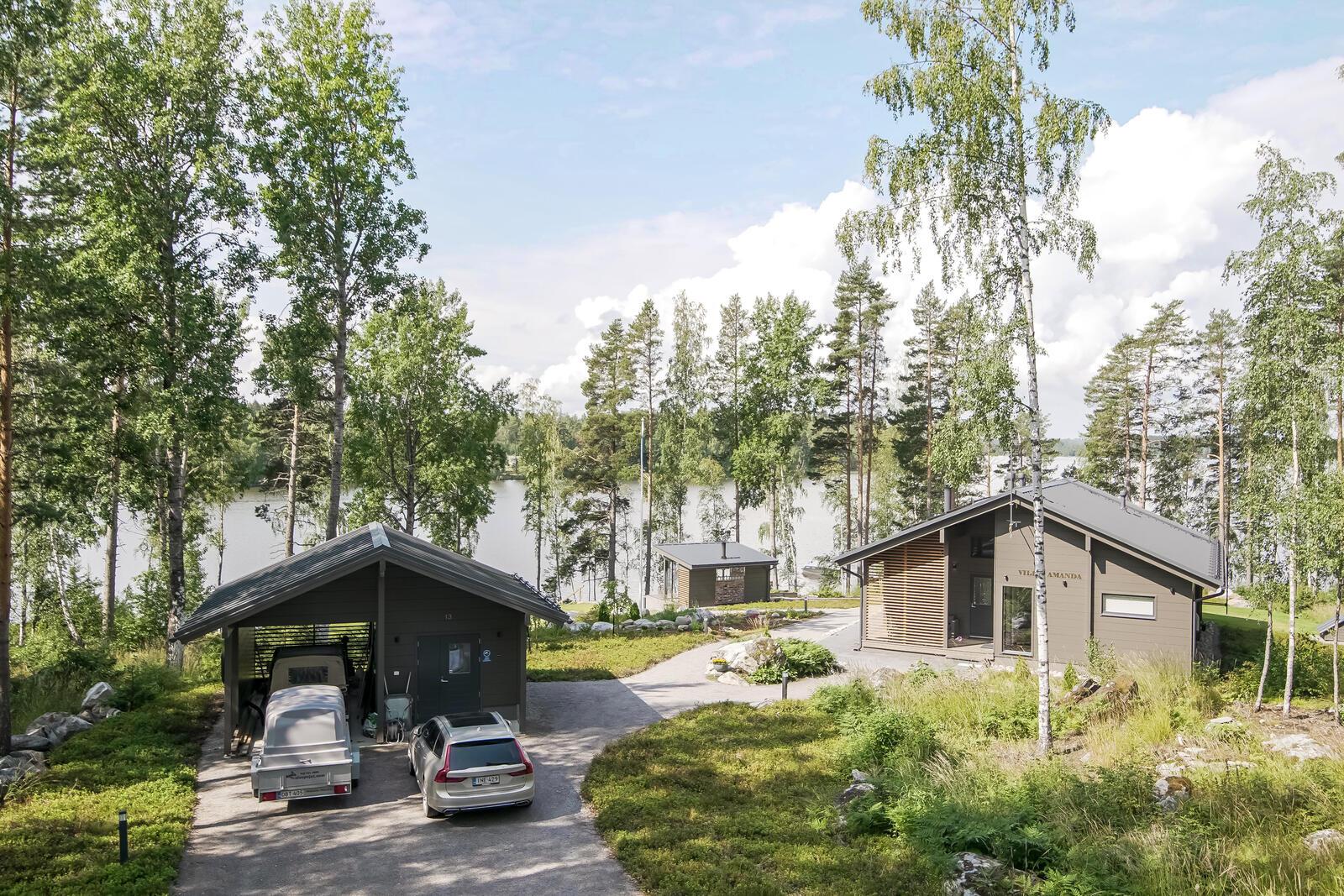 проект банни сауны Kuu sauna Honka