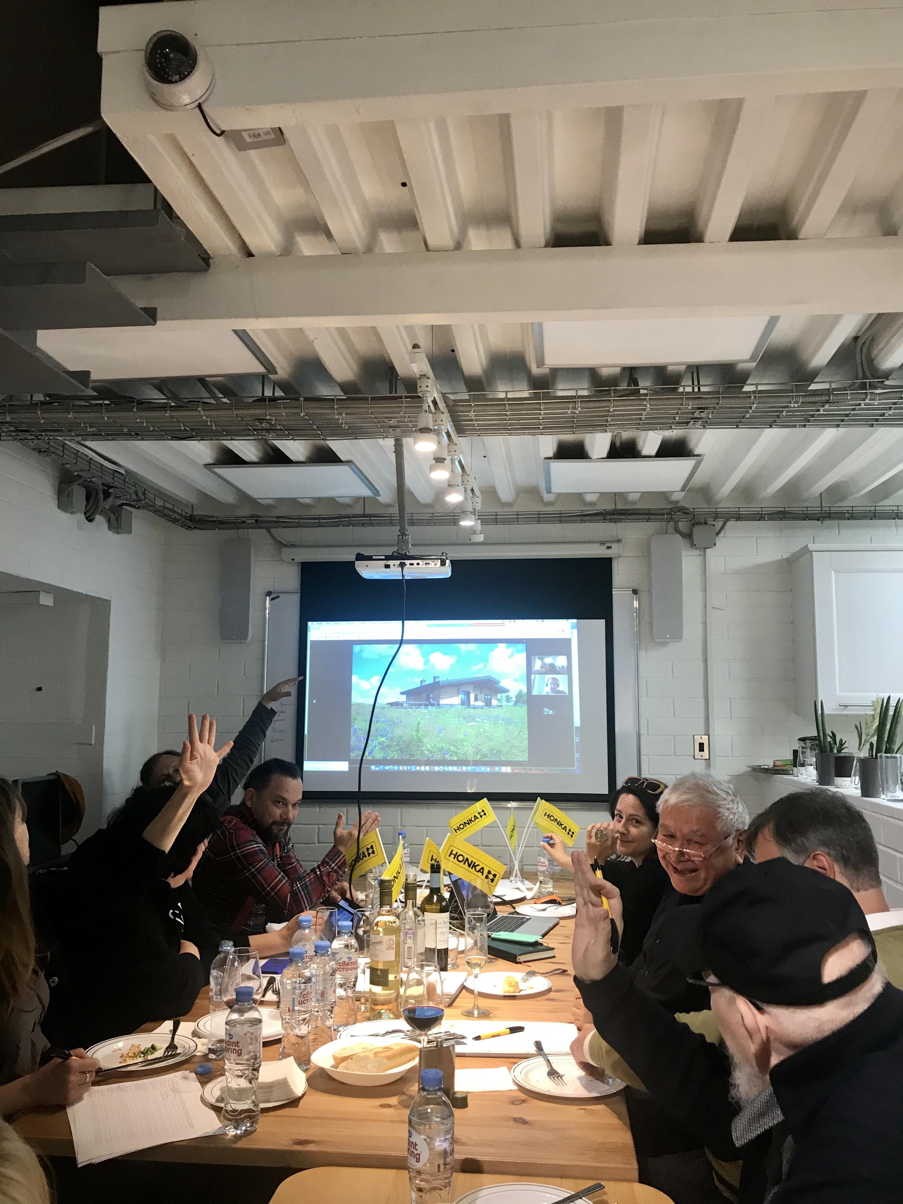 Состоялось заседание Экспертного совета премии АРХИWOOD-2020!