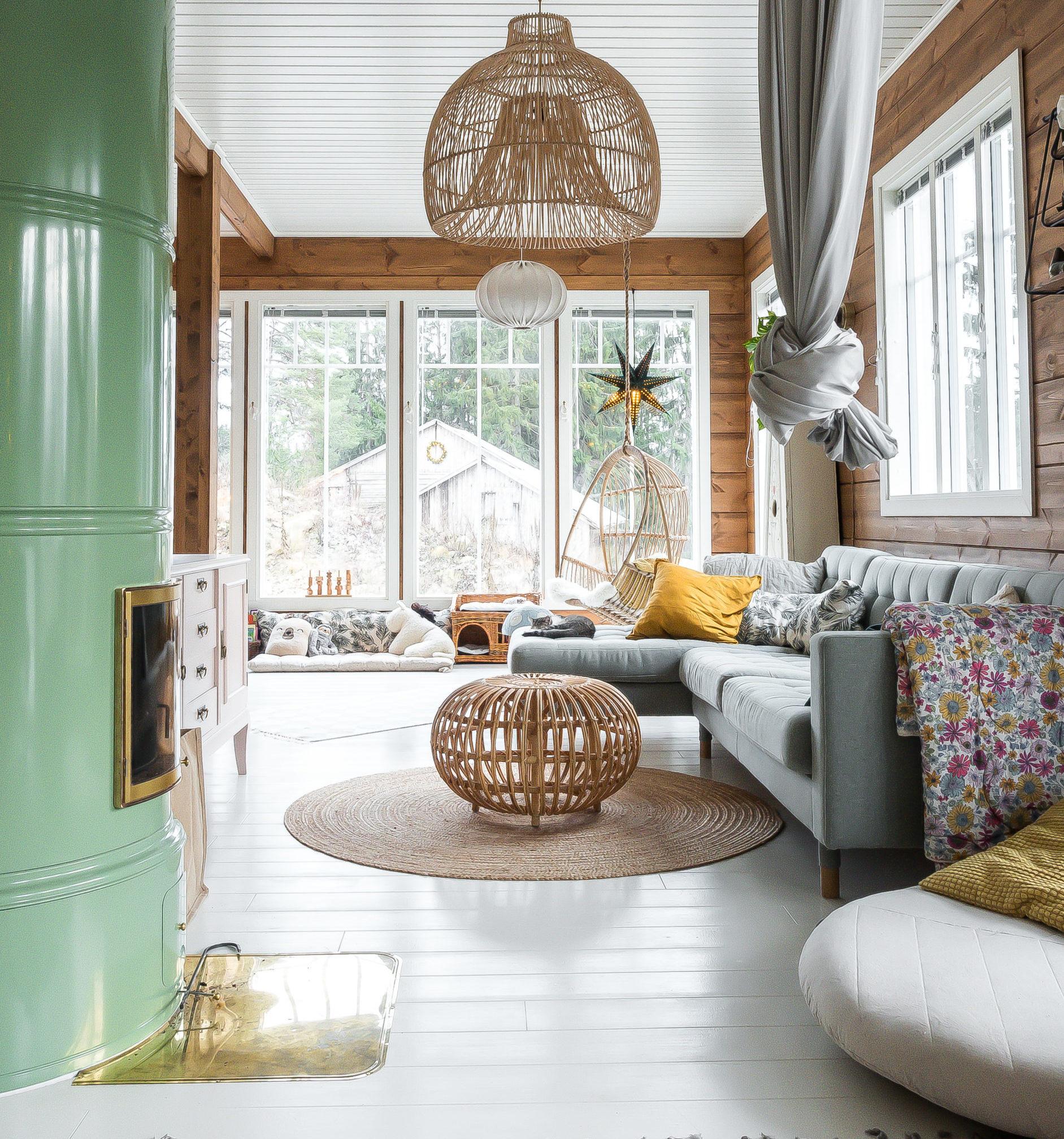 Проект дома в традиционном финском стиле