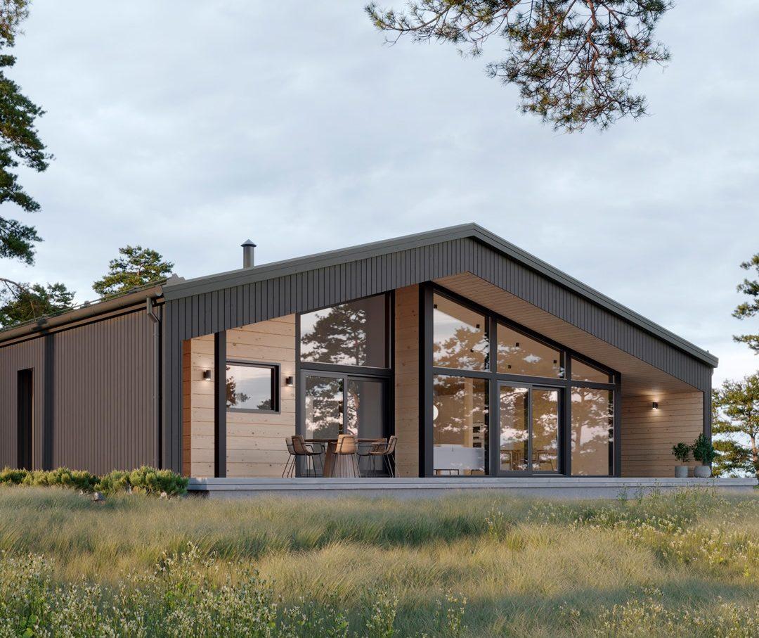 фасады проекта дома Галла