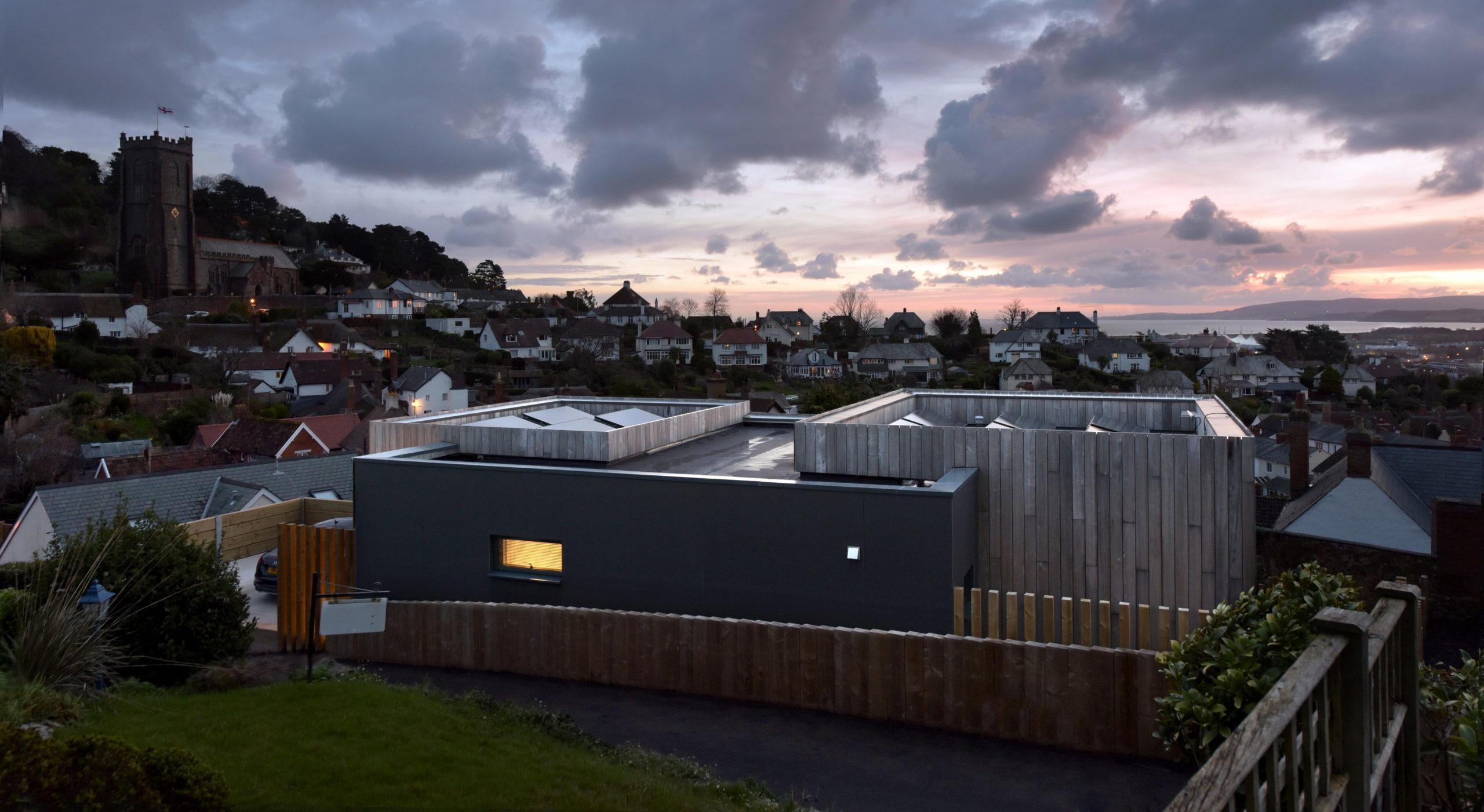 ультрасовременный проект дома из клееного бруса